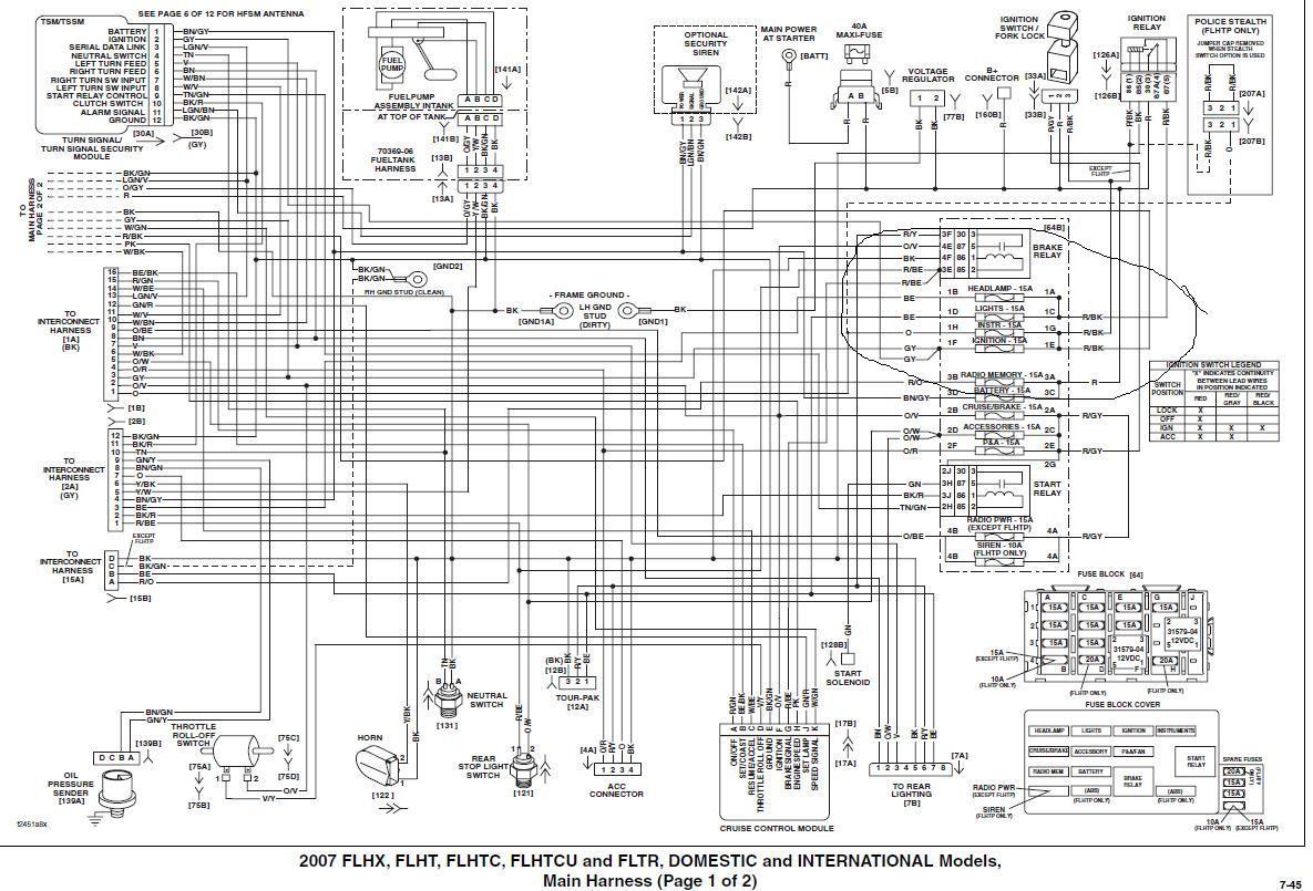 harley speaker wiring diagram