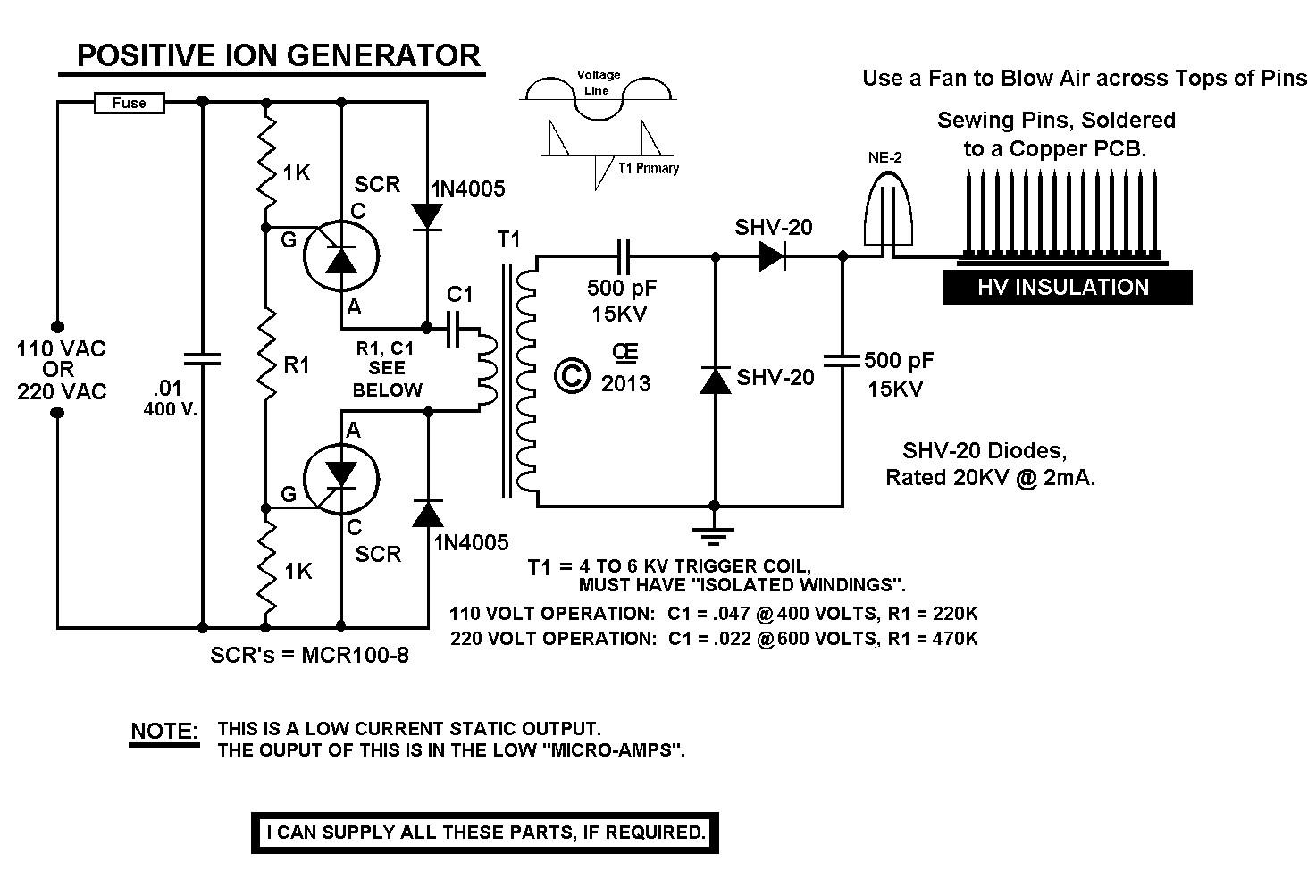 high power ozone generator electronic Pinterest