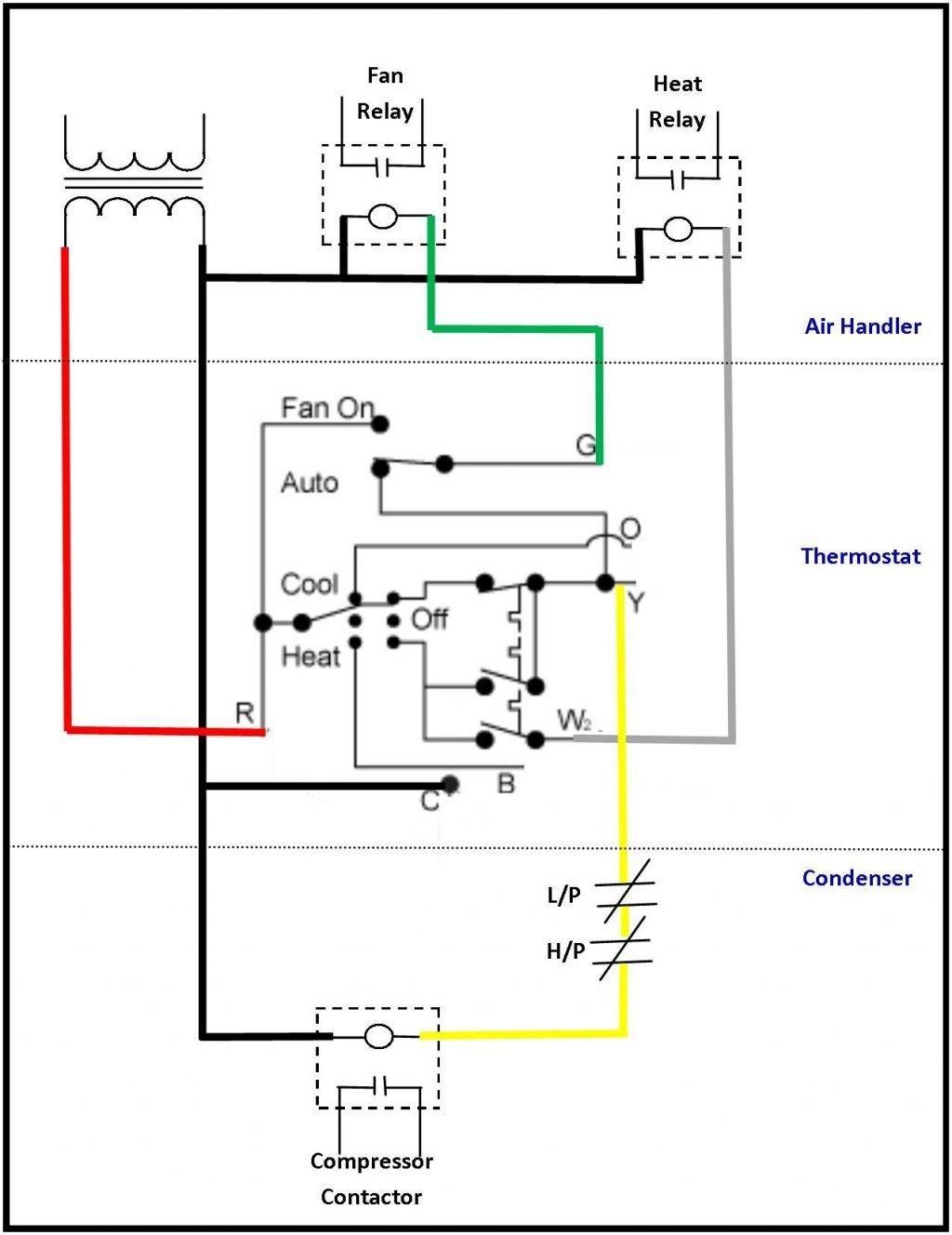 Air Conditionering Diagram Home Unit pressor Condenser Conditioning Pdf Split System
