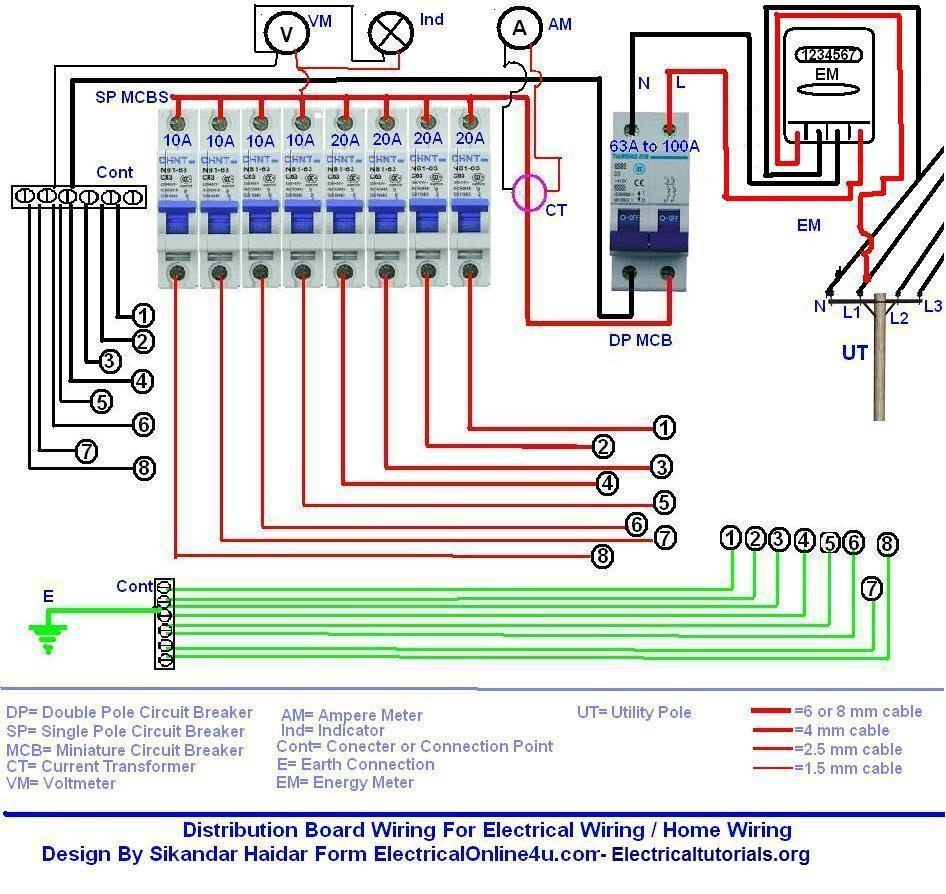 Single 2Bphase 2Bdistribution 2Bboard 2Bwiring 2Bdiagram To