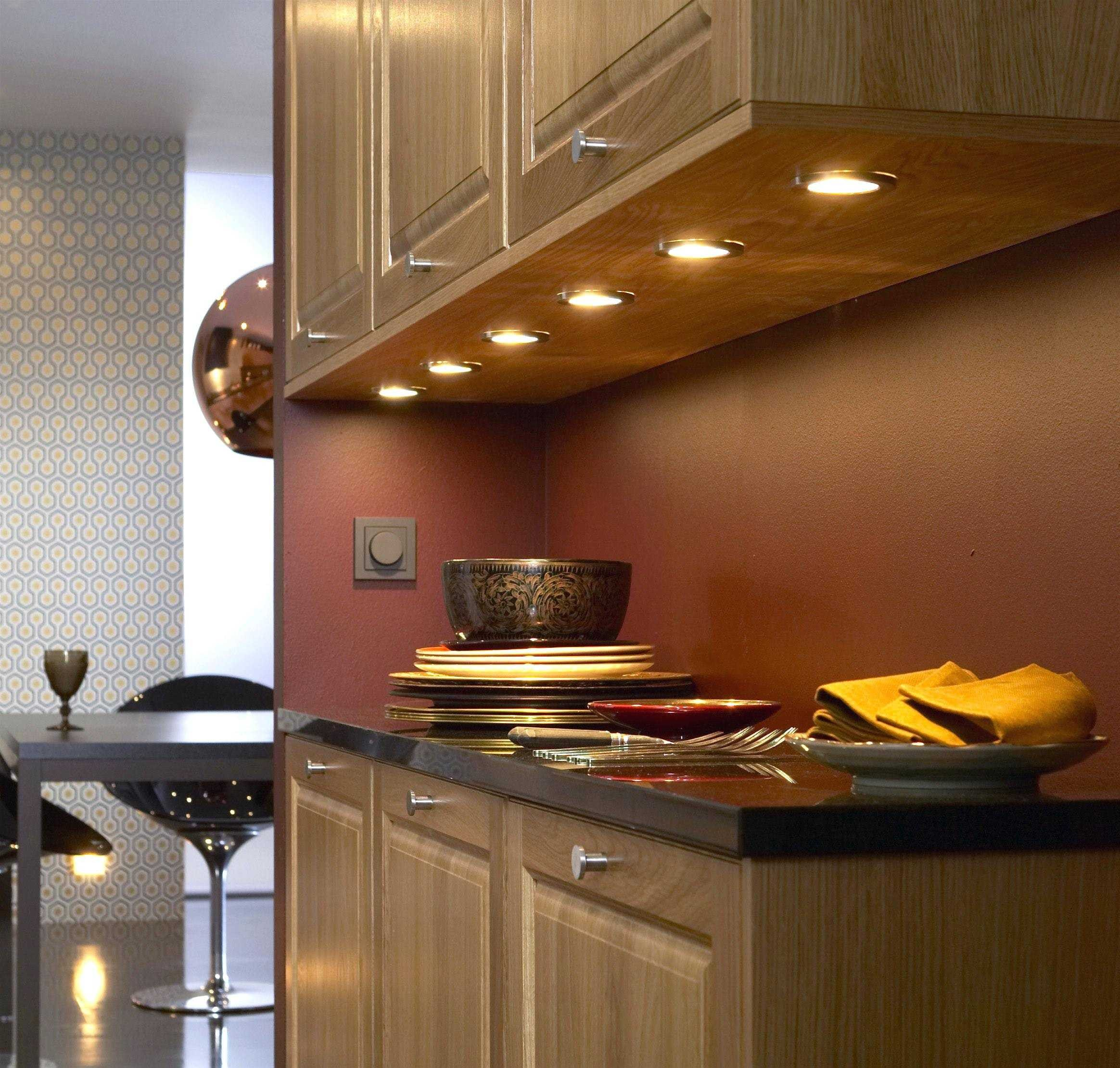 Direct Wire Under Cabinet Lighting Undercounter Led Strip Cupboard