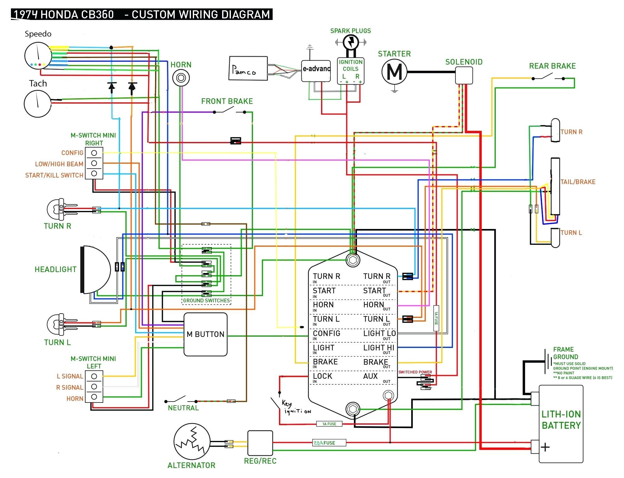 Diagrams Honda Alternator Schematic Honda Gx630 Wiring Diagram Honda
