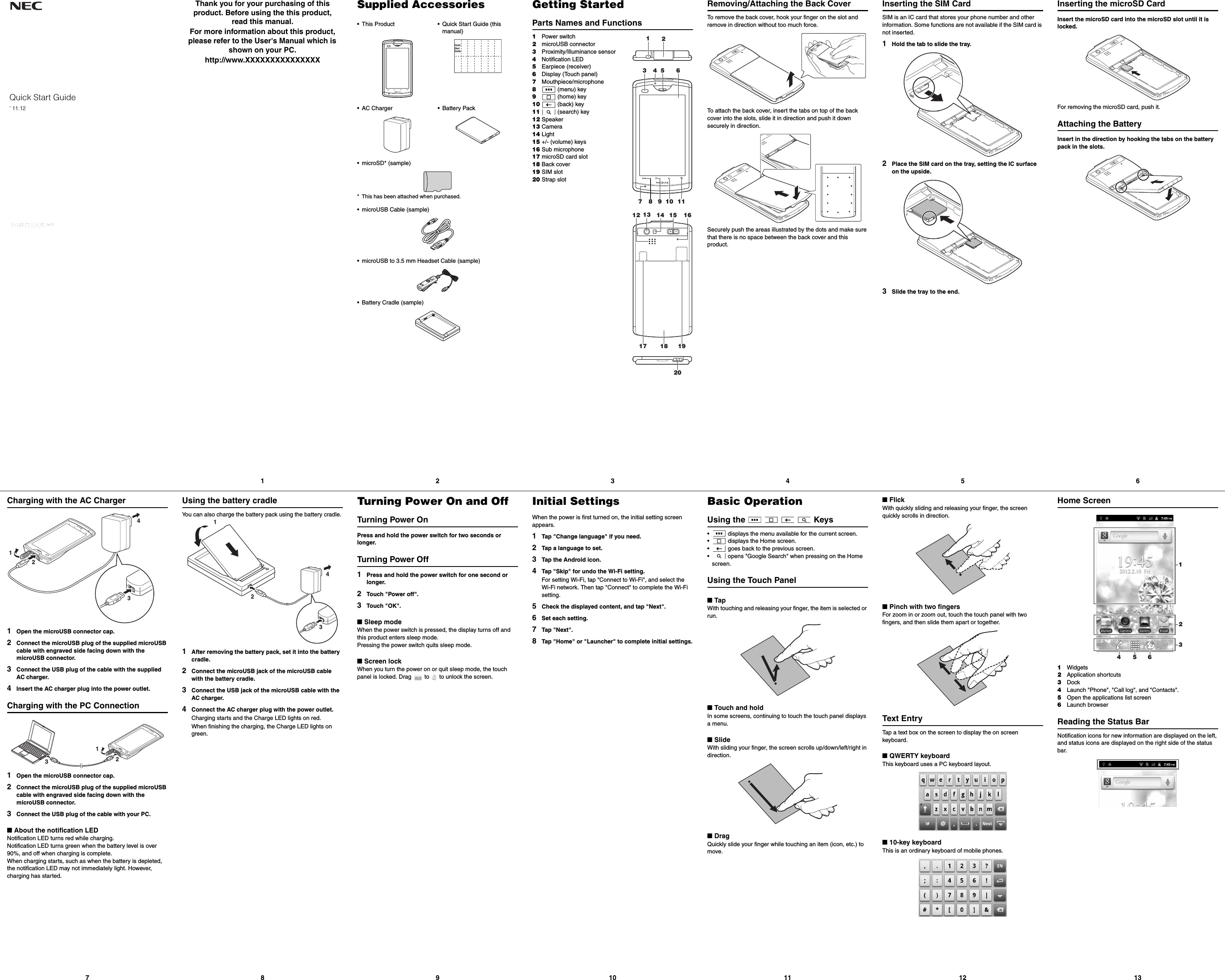 Page 1 of IQF1504 KMP7N4AB 1A User Manual NEC Corporation of America