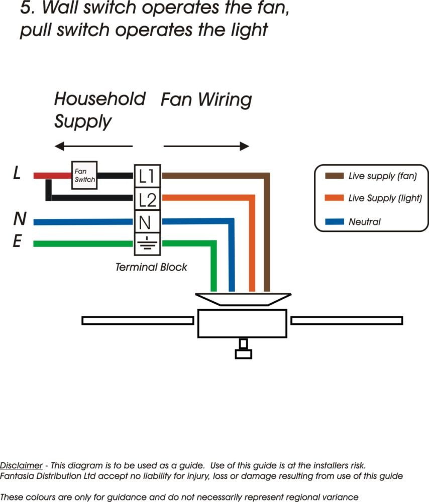Fan Wiring Diagramh Ceiling Wall For Surprising Pull Hunter Speed Separate