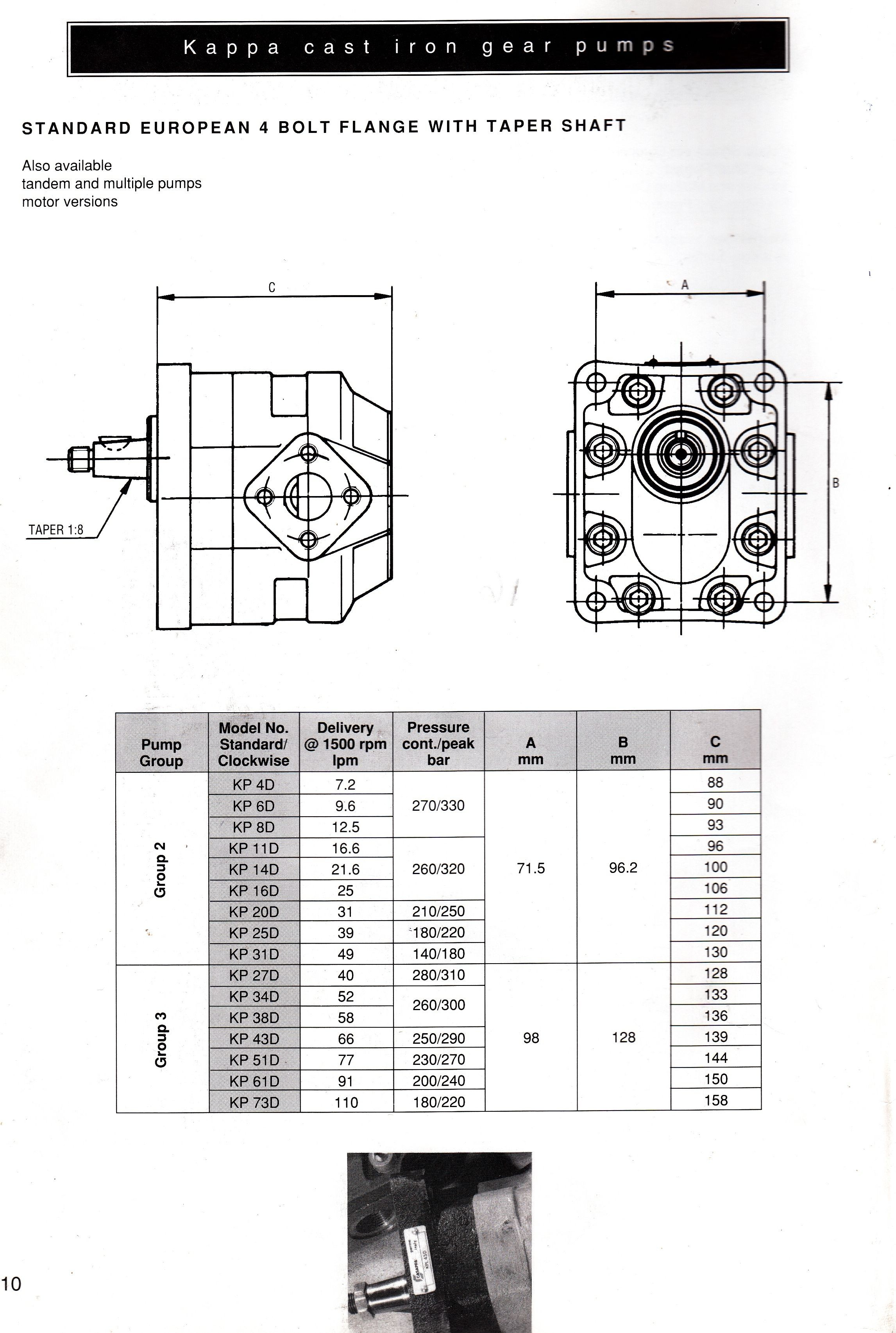 A page a day from the truly useful Universal Hydraulic Equipment catalogue This morning page