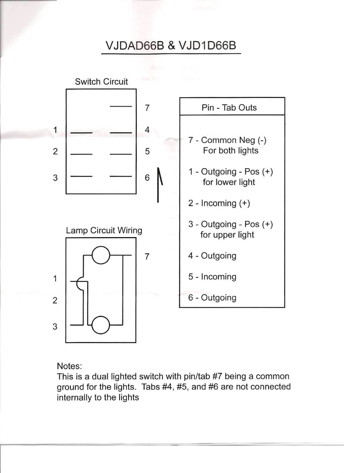 Illuminated Rocker Switch Wiring Diagram Awesome   Wiring Diagram Image