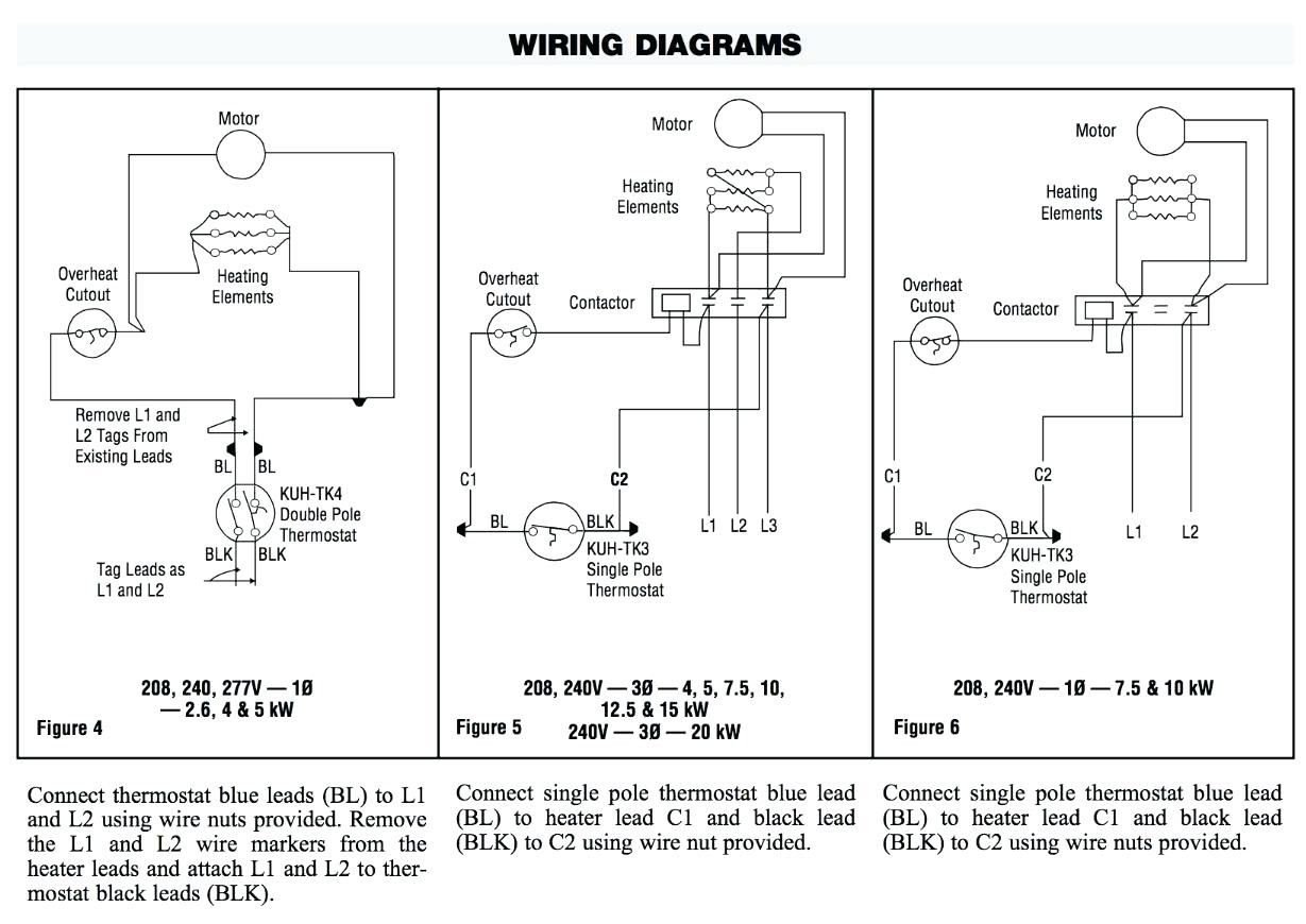 Double Element Water Heater Thermostat Wiring Diagram