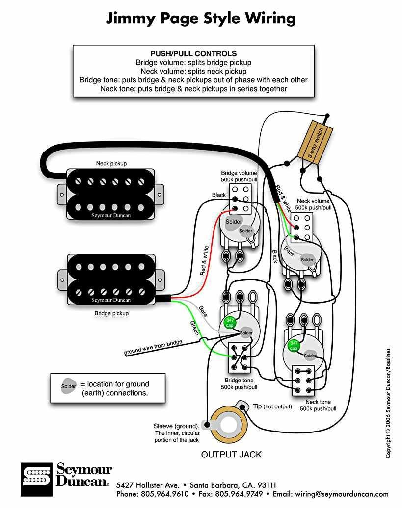 Jimmy Page wiring