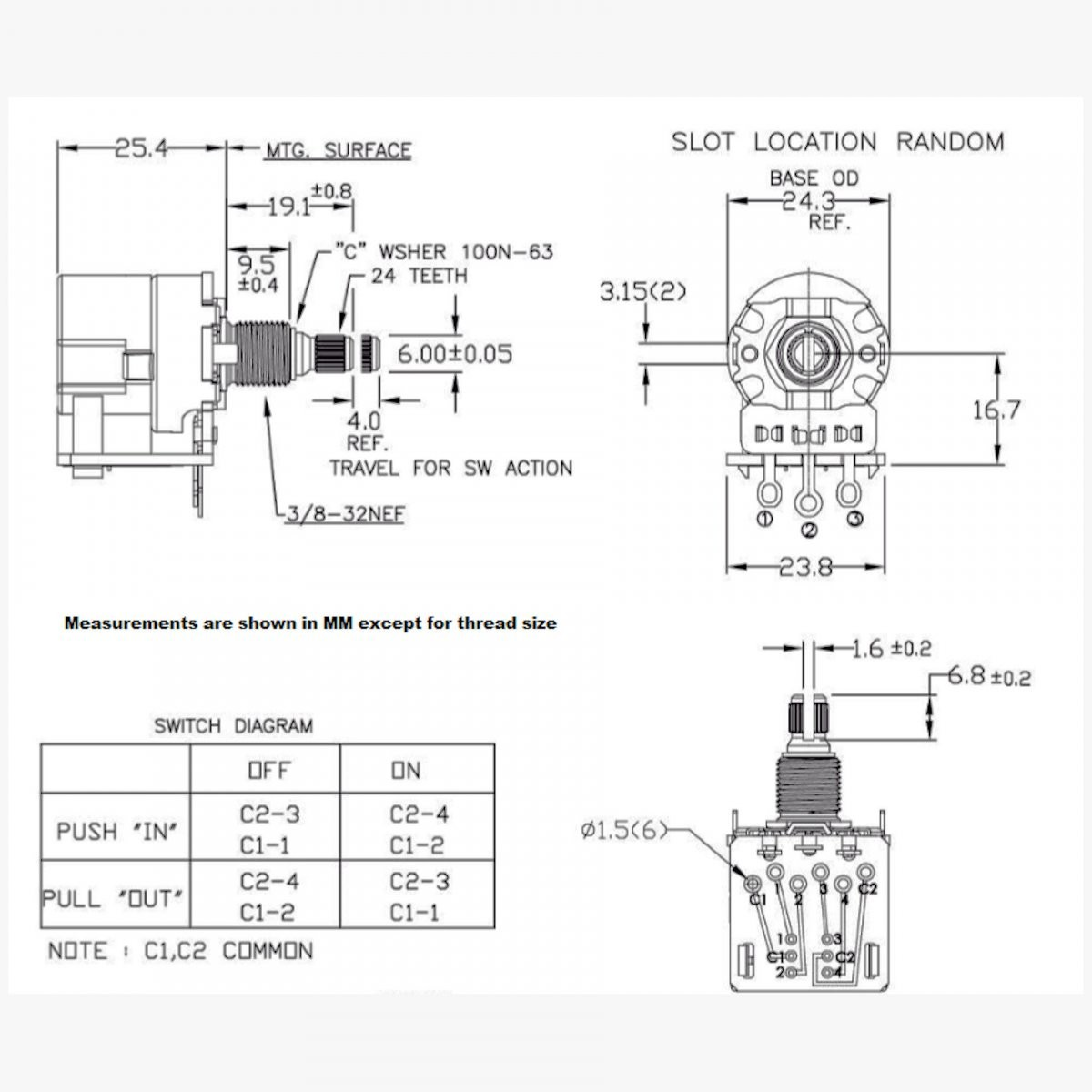 Push pull details CTS Push Pull dwg