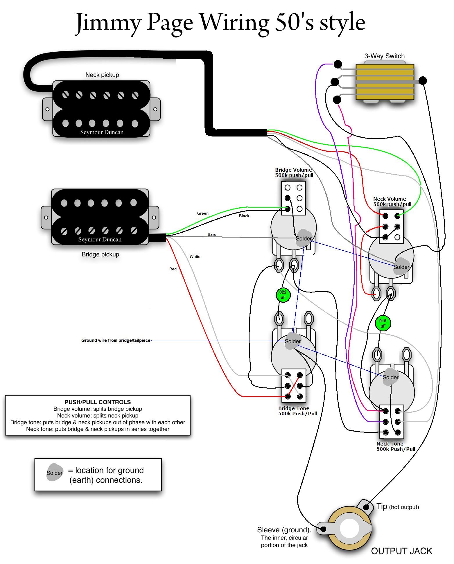 Jimmy Page wiring Guitars & Gear Pinterest