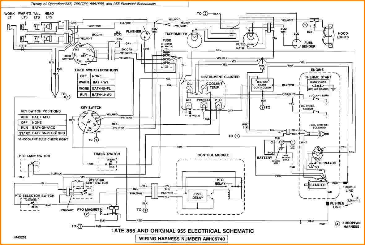 John Deere Gator 6x4 Wiring Diagram Schematic - Wiring Diagram ... on