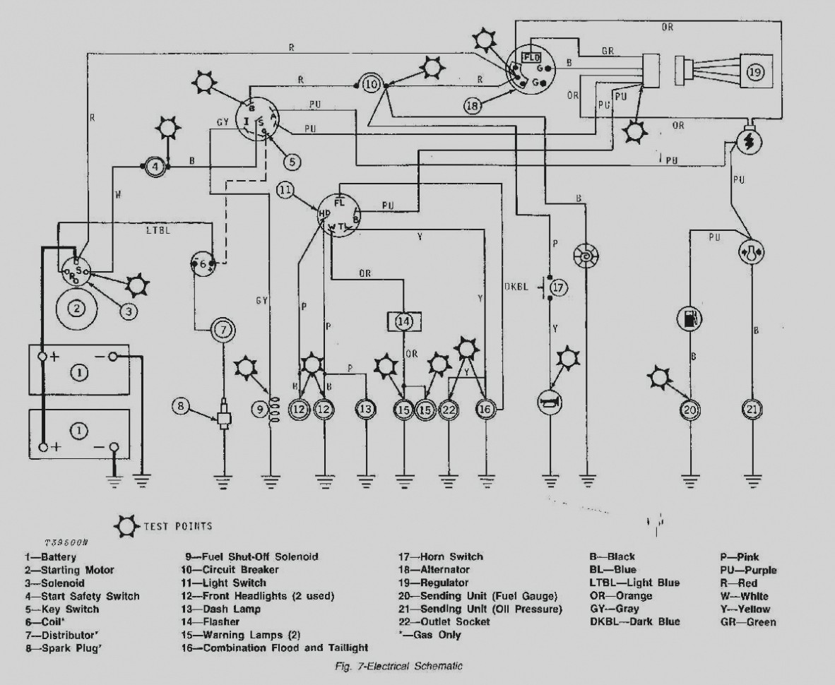 John Deere Z930a Wiring Schematic Diagrams 190c Diagram 310d Starter Solenoid Free Lawn Mower Parts Classic