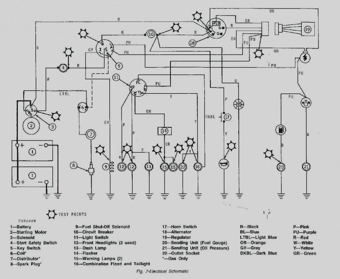 D john deere starter solenoid wiring diagram free
