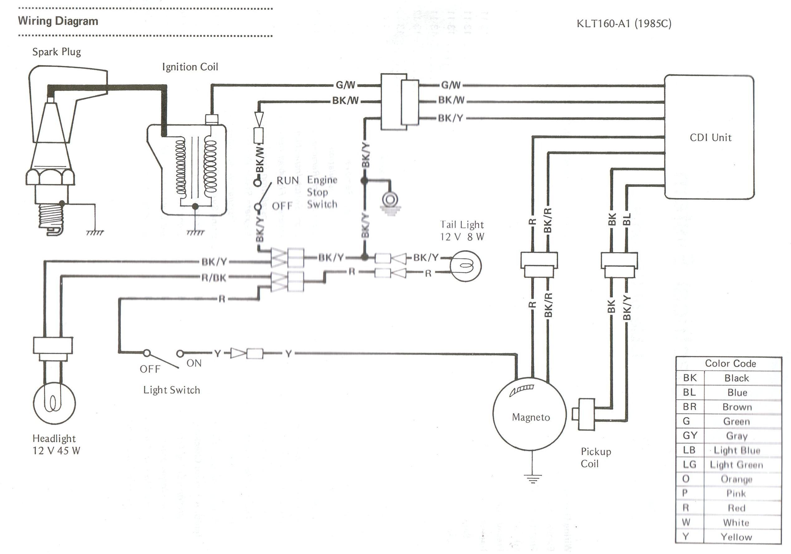 Polaris Scrambler 90 Wiring Diagram