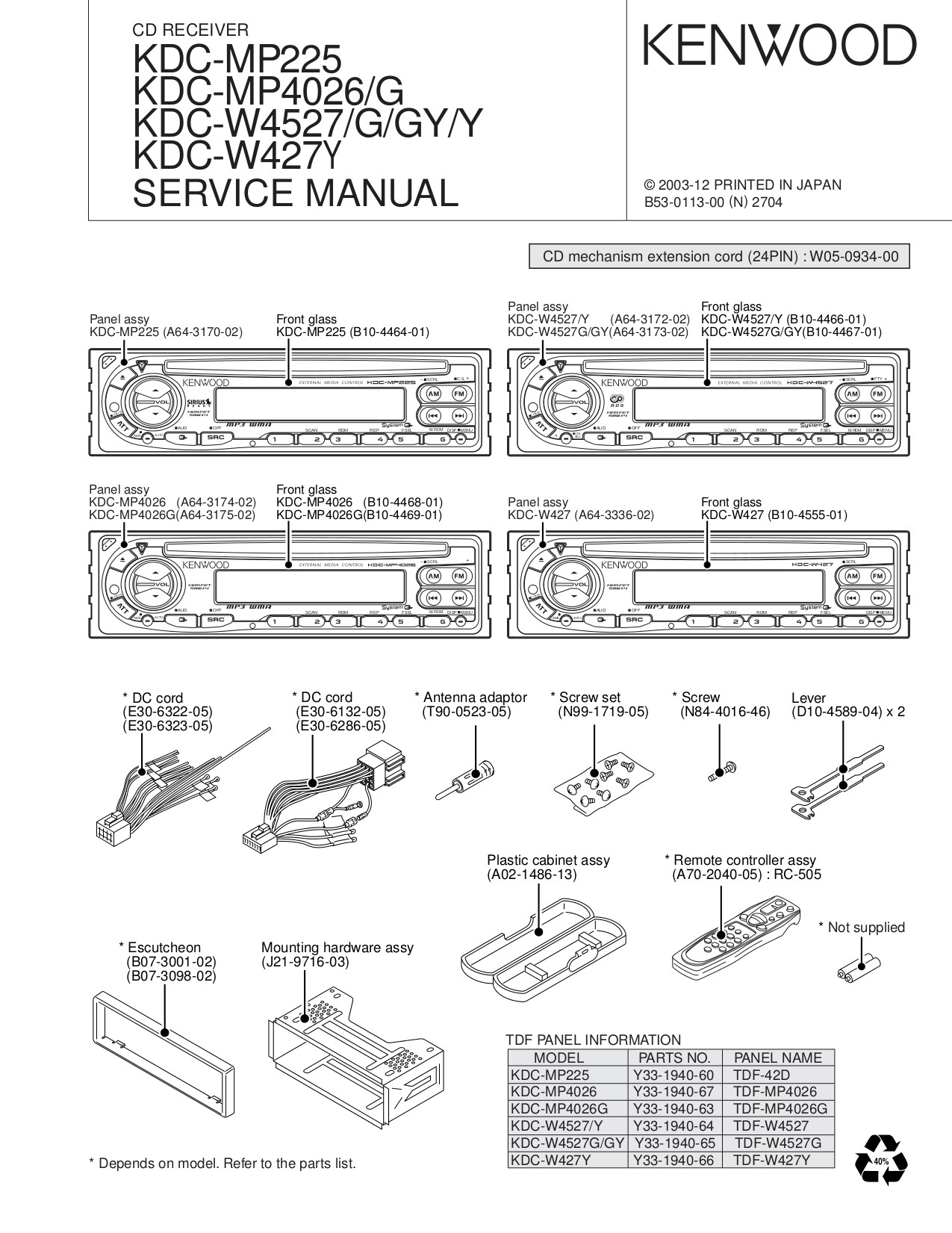 Kenwood Kdc 148 Radio Wiring Diagram