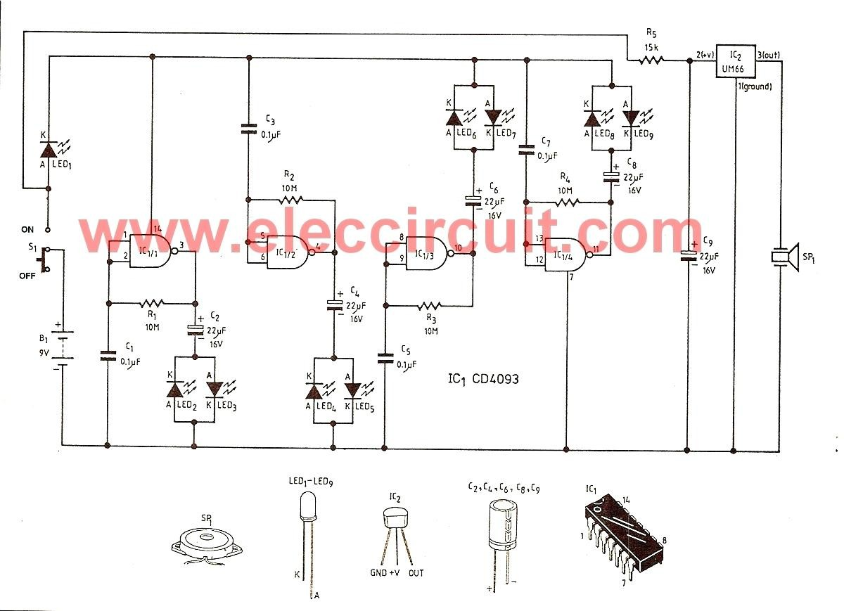 Full Size of Wiring Diagram For Nest Thermostat Led Lights Circuit Christmas Light String Flasher The