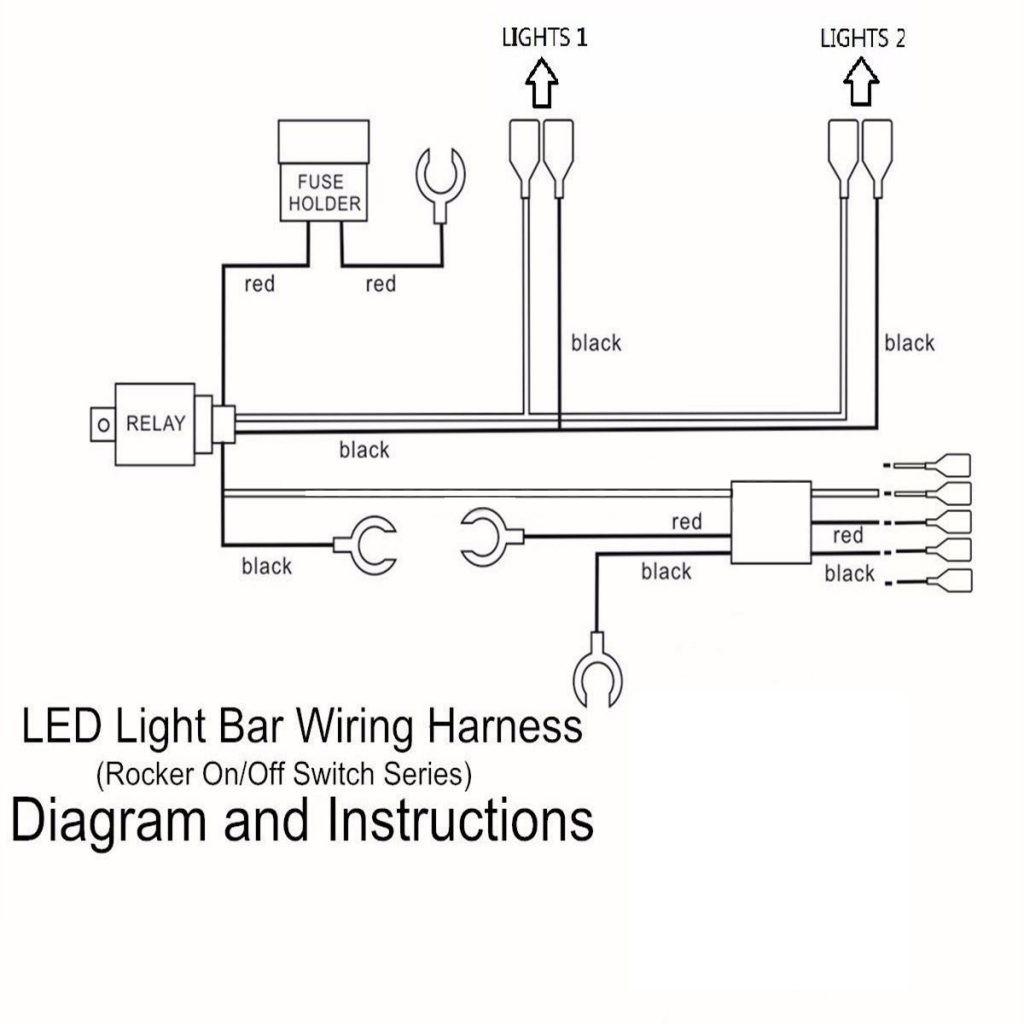 12v Relay Wiring Diagram Pin Pins Led Light Bar Driving Switch Rocker