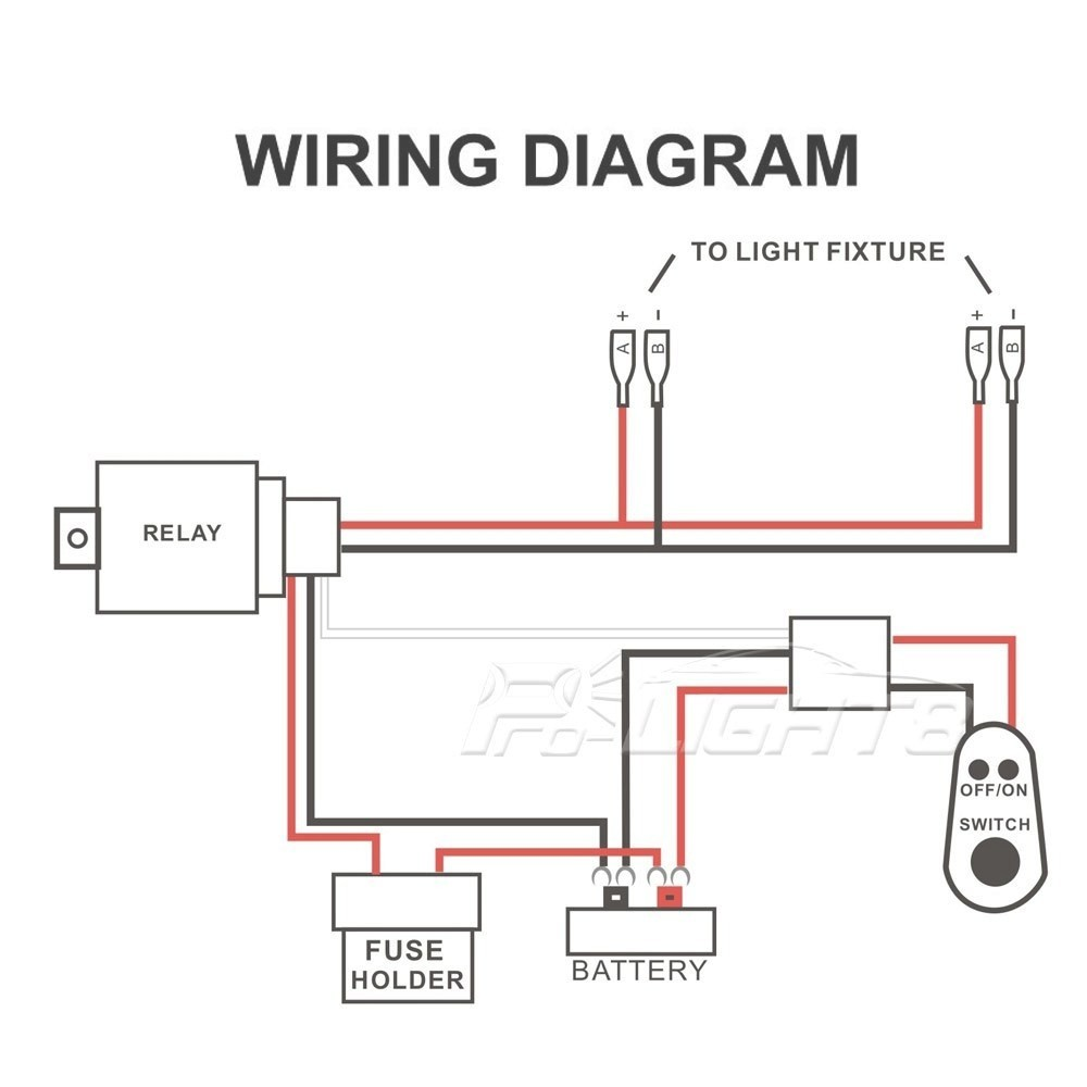 Car Wiring Morimoto Led Light Bar Relay Wire Harness Schematic 2 For Diagram