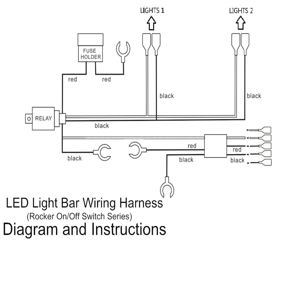 Led Light Bar Wiring Diagram 28 At