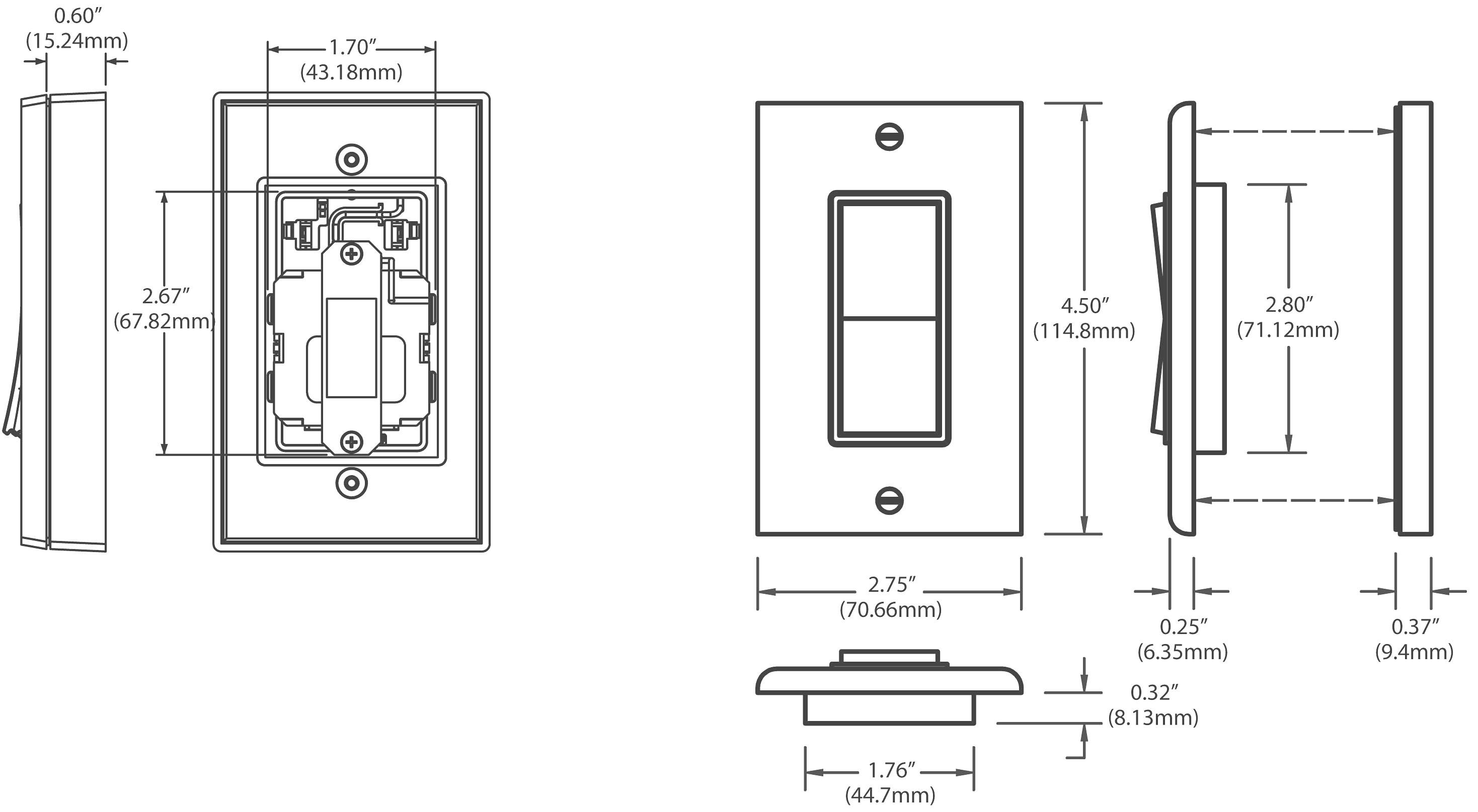 Leviton Dimmer Wiring Diagram Way Dimmers Rocker 3 Switch Decora Full