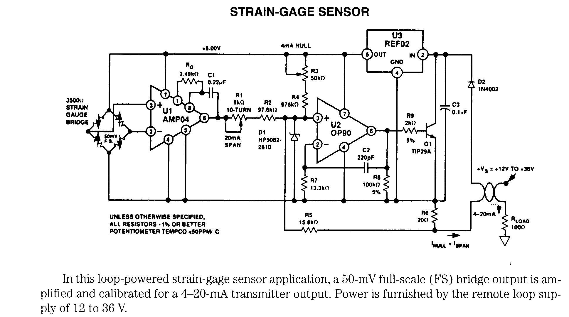 Strain Gauge Load Cell Circuit Diagram Lovely Strain Gauge Schematic Electronic Schematics Pinterest Electronic