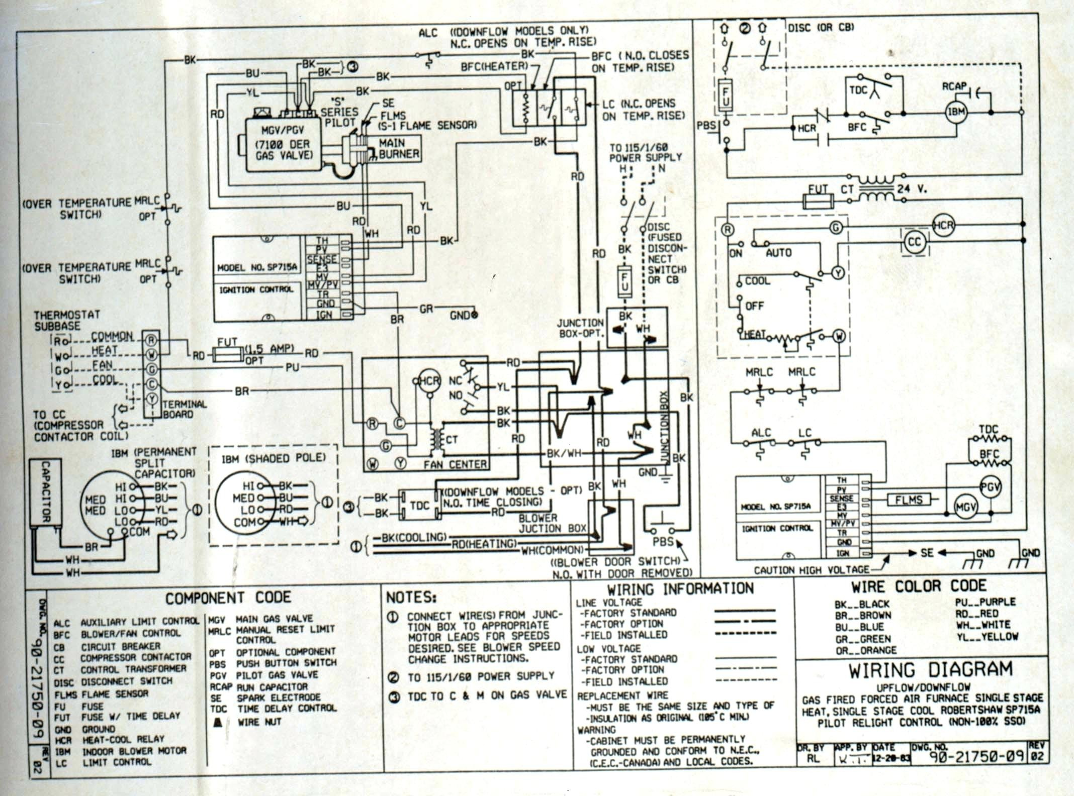 Full Size of Miller Mobile Home Furnace Wiring Diagram Electric For At Archived Wiring Diagram