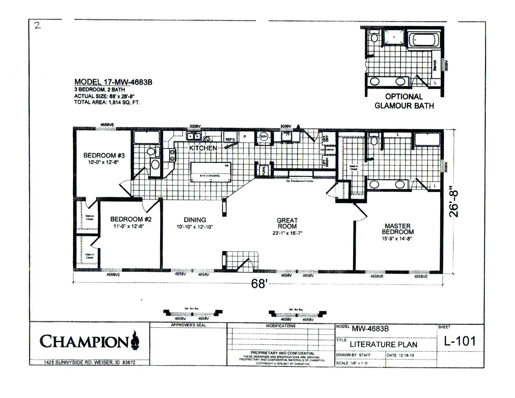 Double Wide Trailer Floor Plans Unique Evcon Mobile Home Furnace Wiring Diagram Gas Older How Wire A