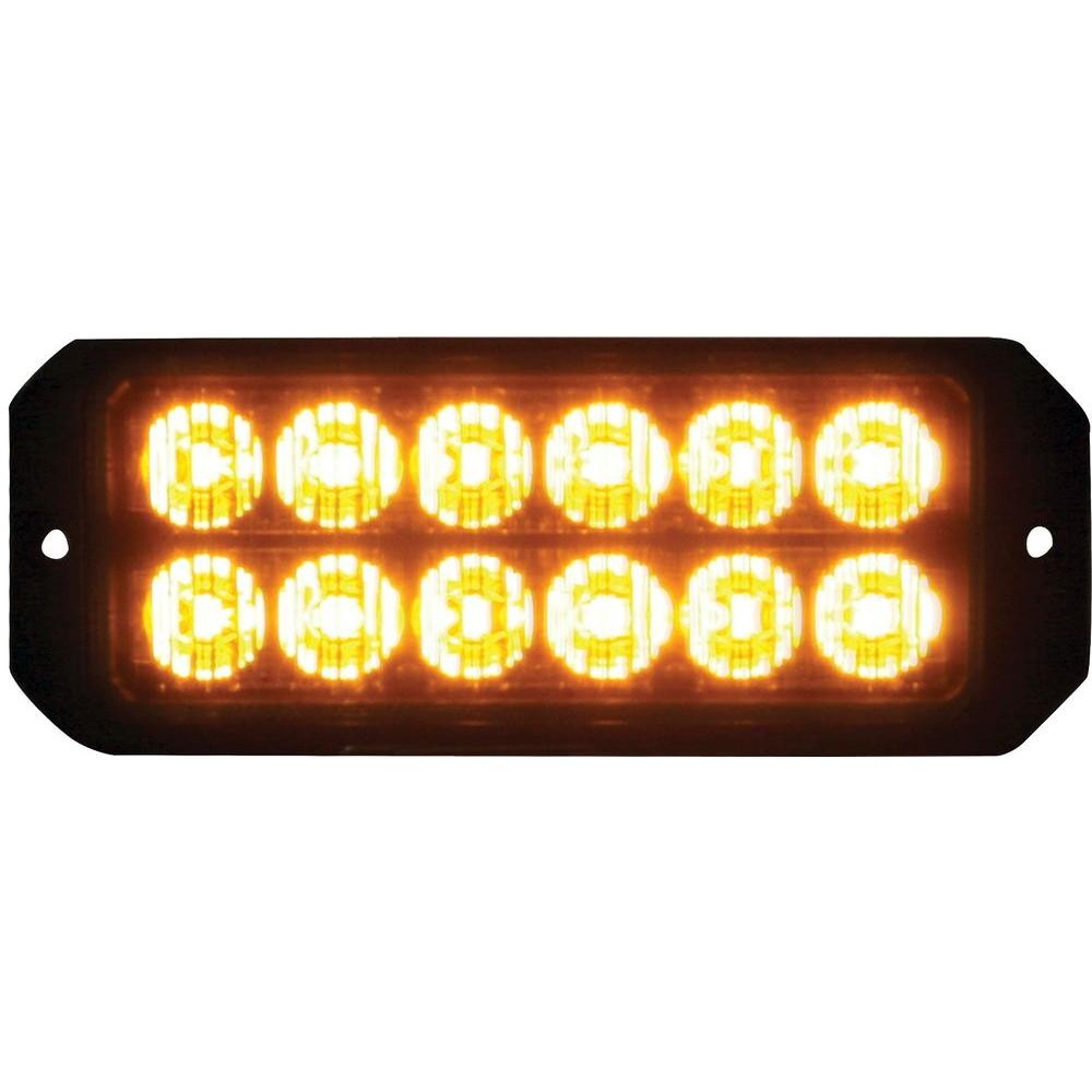 Buyers Products pany 12 Amber LED 5 in Mini Strobe Light