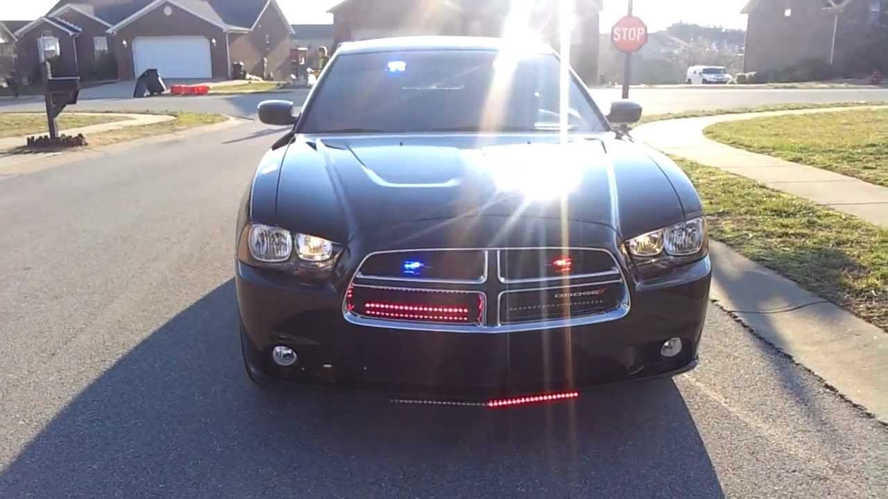 Maxxima LED Strip Lighting for Police and Emergency Vehicles DAYTIME VIDEO