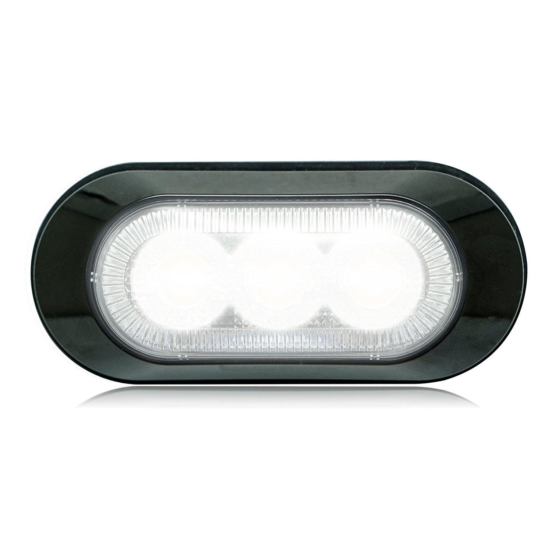 Amazon Maxxima M YCL Amber 3 LED Ultra Thin Low Profile Warning Light Automotive
