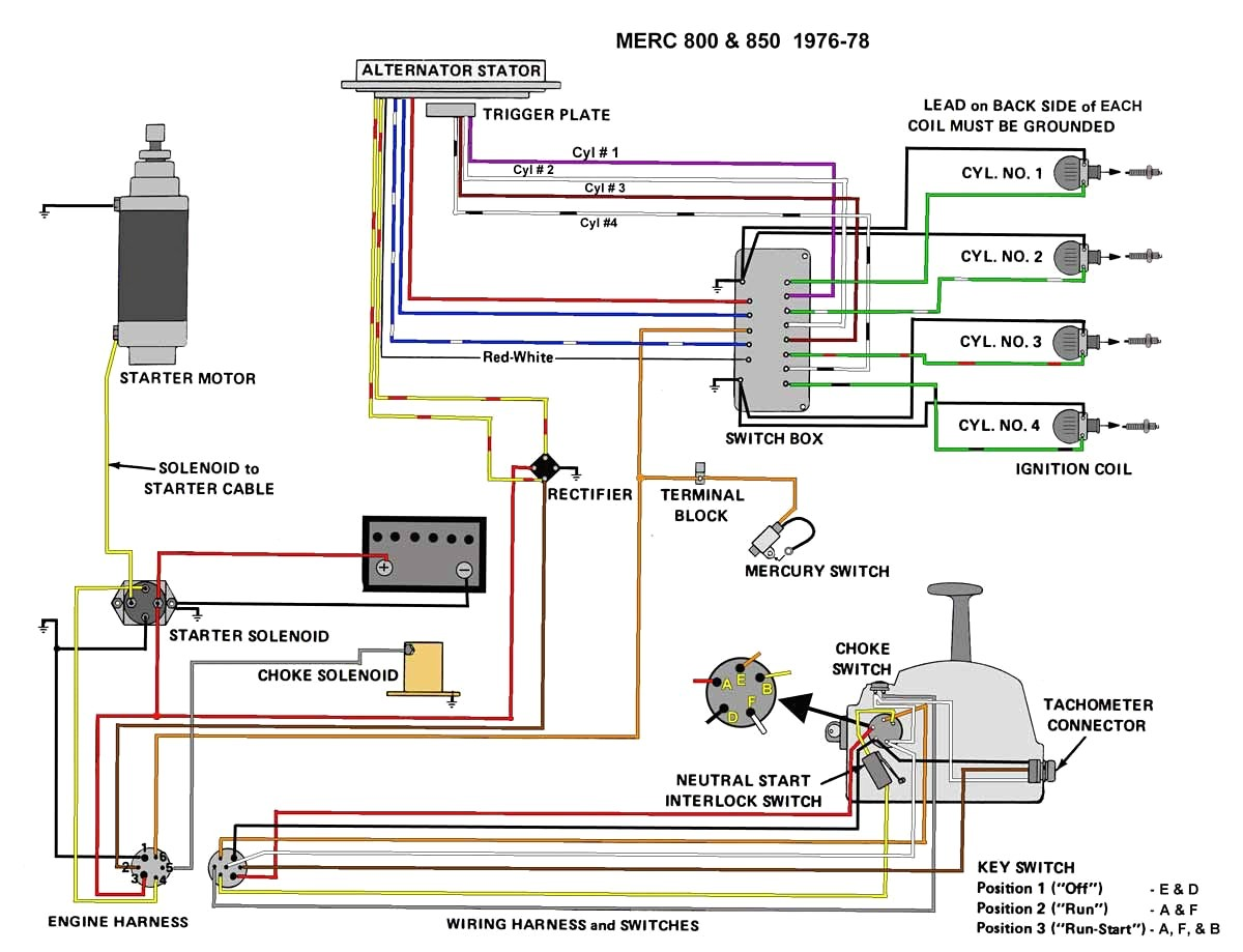 ... Outstanding Mercruiser Ignition Switch Wiring Diagram Embellishment
