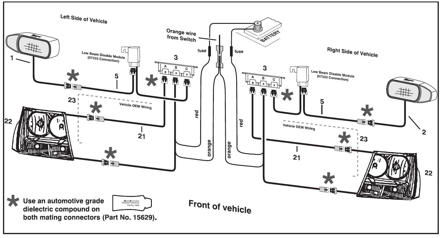 Free Hiniker Snow Plow Wiring Diagram Full size