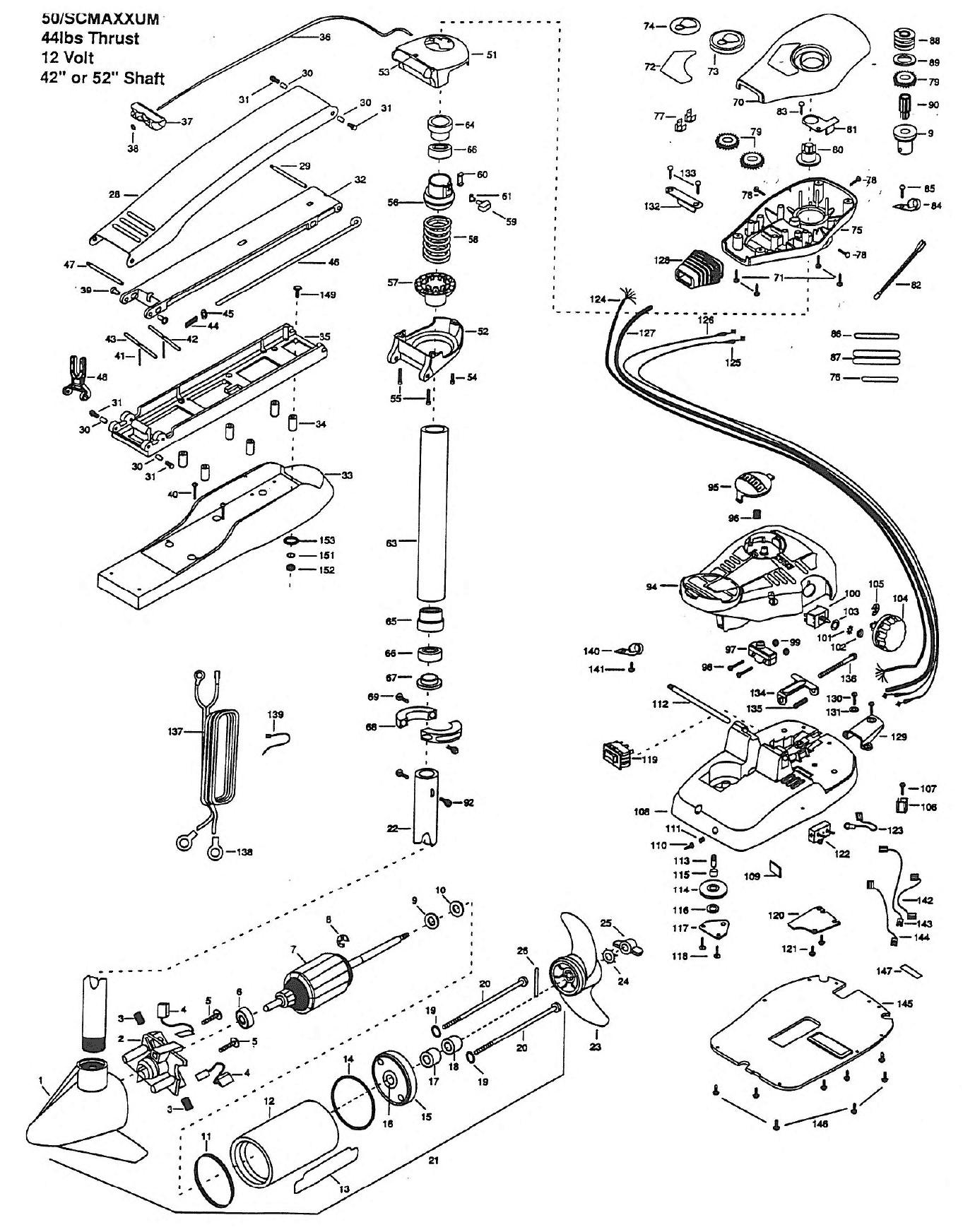 minn kota wiring diagram manual elegant minn kota maxxum 50 sc 42 inch parts 1999 from fish307 of minn kota wiring diagram manual minn kota maxxum wiring diagram schematics wiring diagrams \u2022