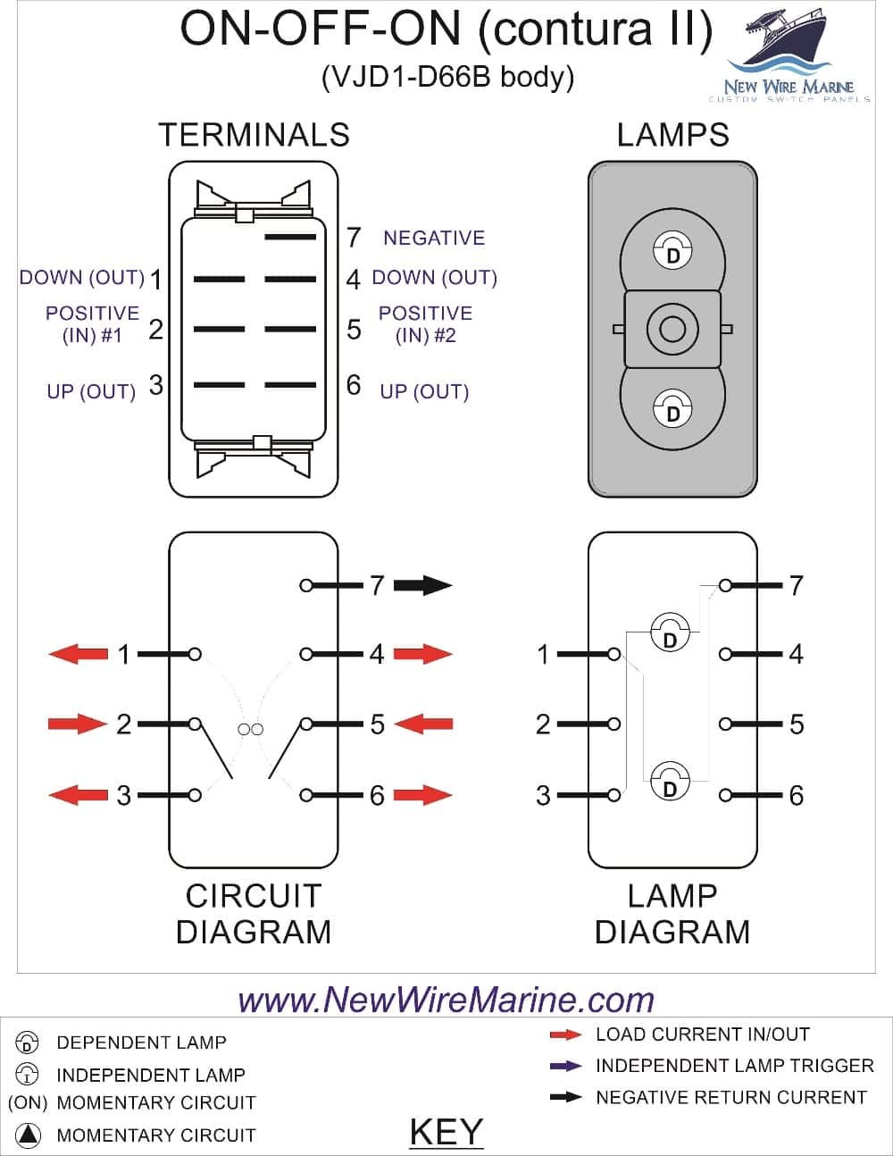 Wire 2 Way Toggle Switch - Wiring Diagram
