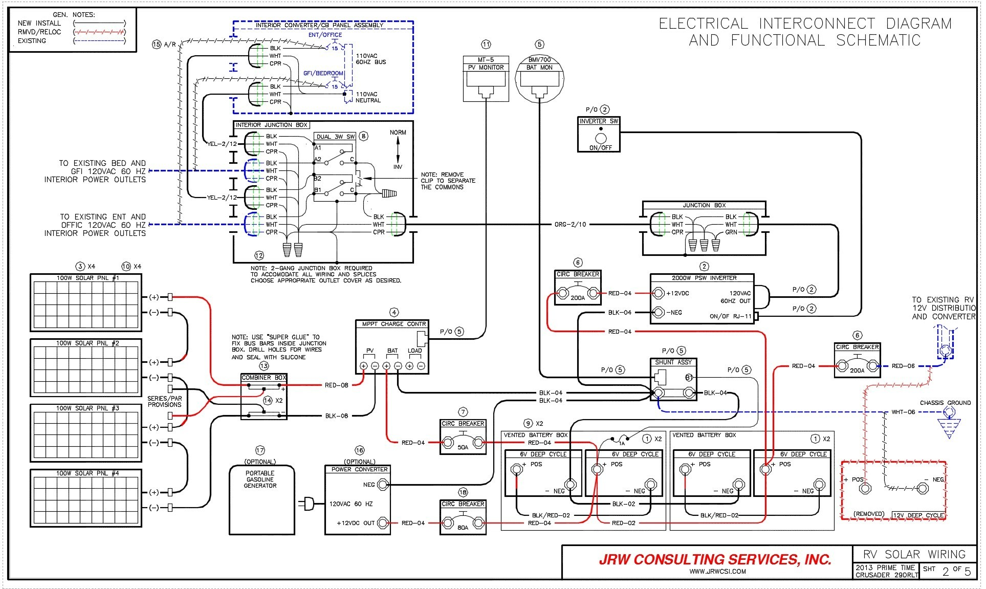 Rv Electrical Wiring Diagram Thoritsolutions