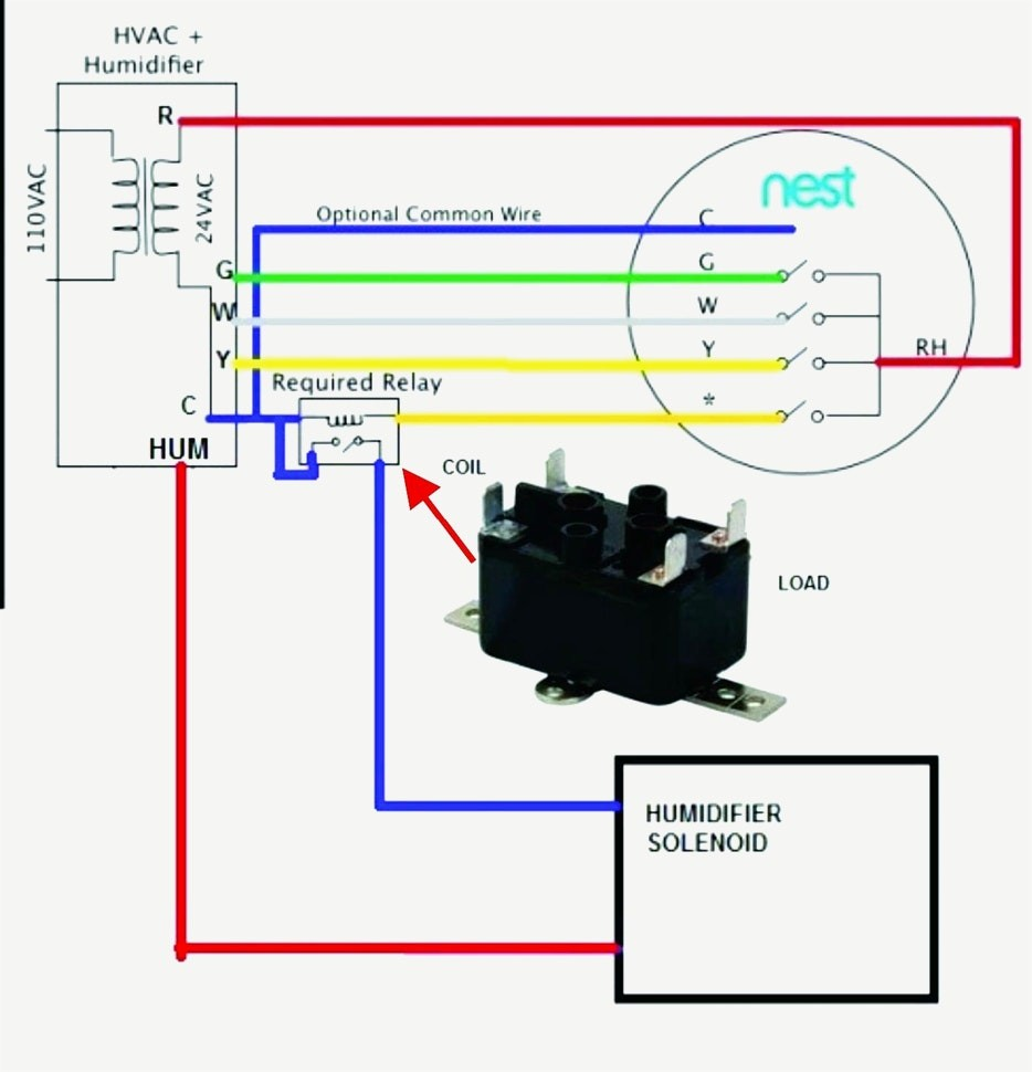 nest humidifier wiring diagram awesome wiring diagram image rh mainetreasurechest com aprilaire humidifier wiring diagram aprilaire humidifier wiring diagram