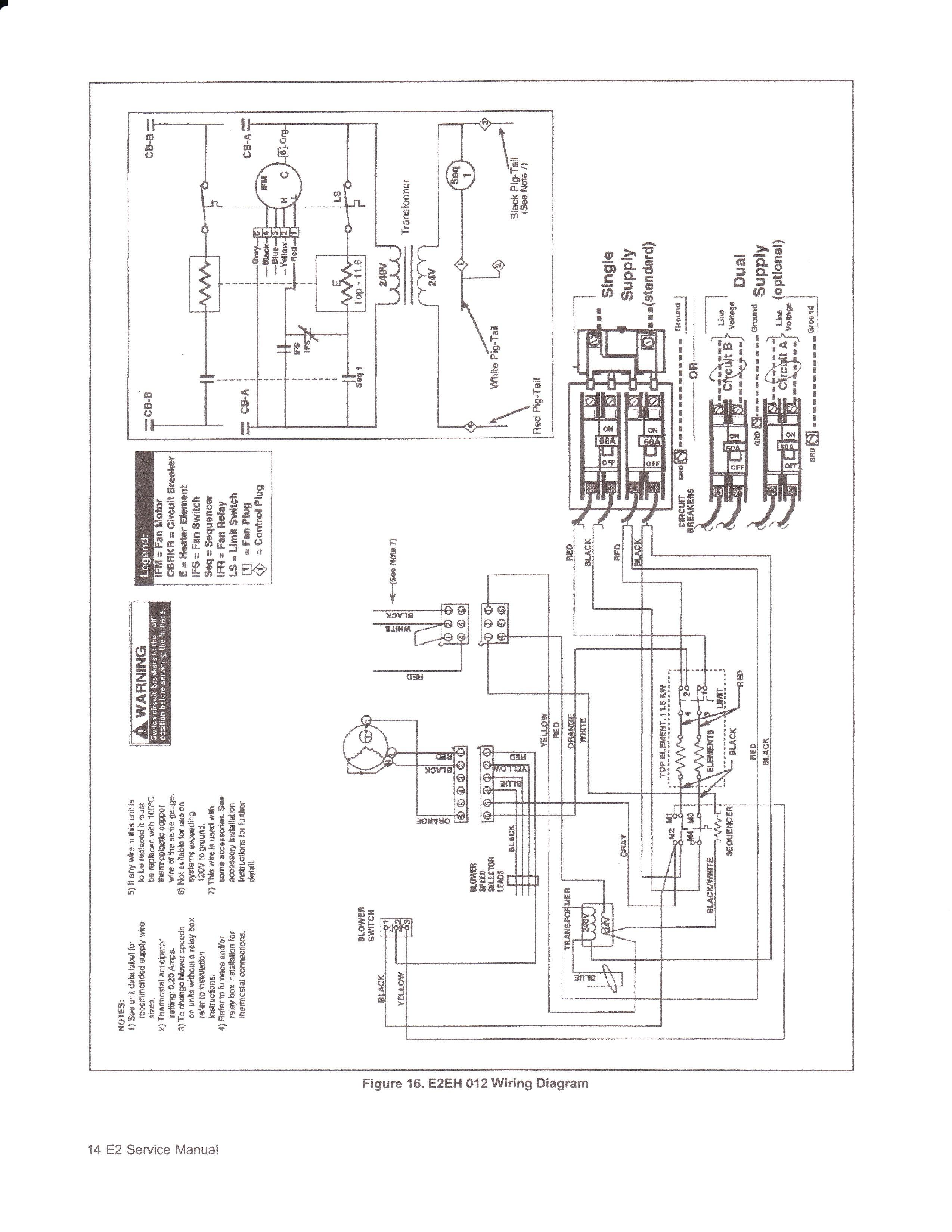 york heat pump electrical schematic