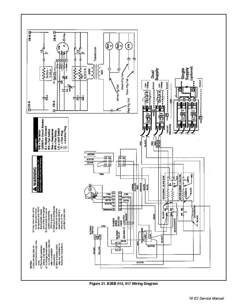 Lennox Wiring Diagram Nordyne Furnace Package Unit Air Ac A c Lines Electrical Wires 800