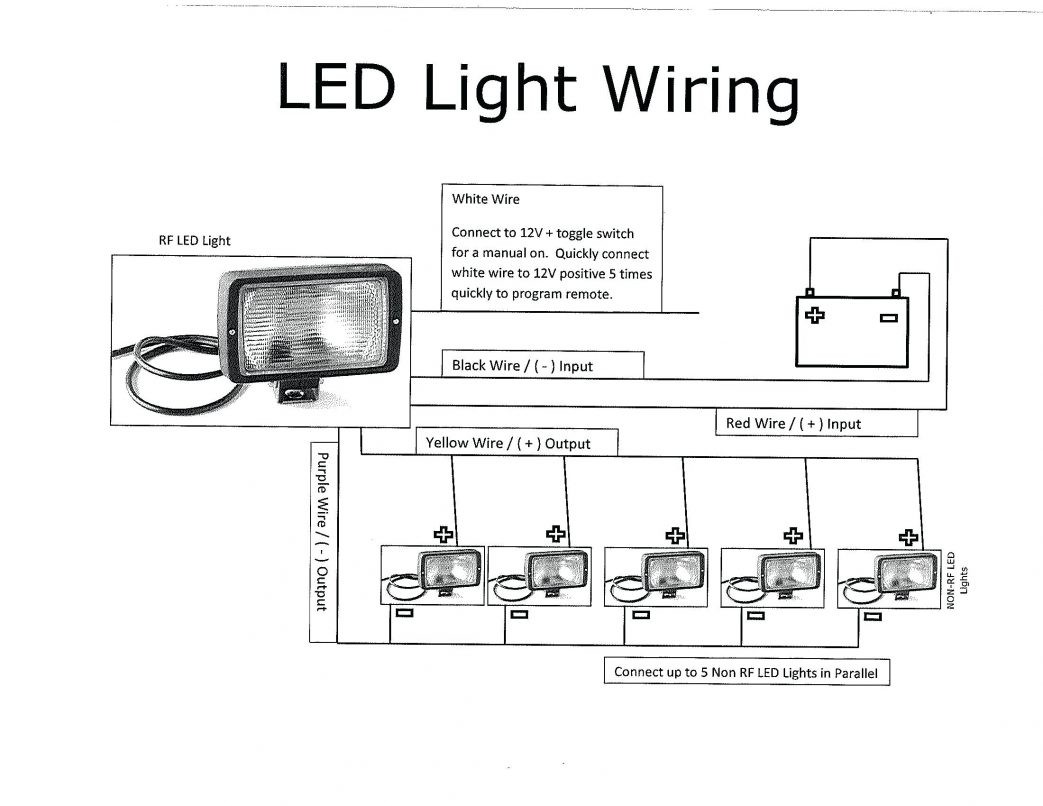 Off Road Lights Wiring Diagram Aux Schematic Diagrams Pro Comp Light Roof Trusted For A Truck