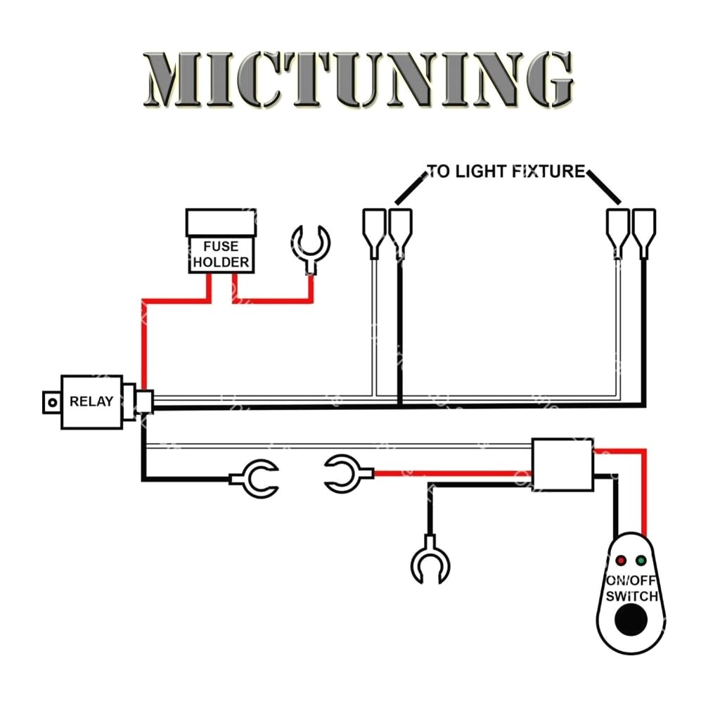 Led Light Bar Wiring Harness Diagram To Dual Extraordinary For f Road Lights