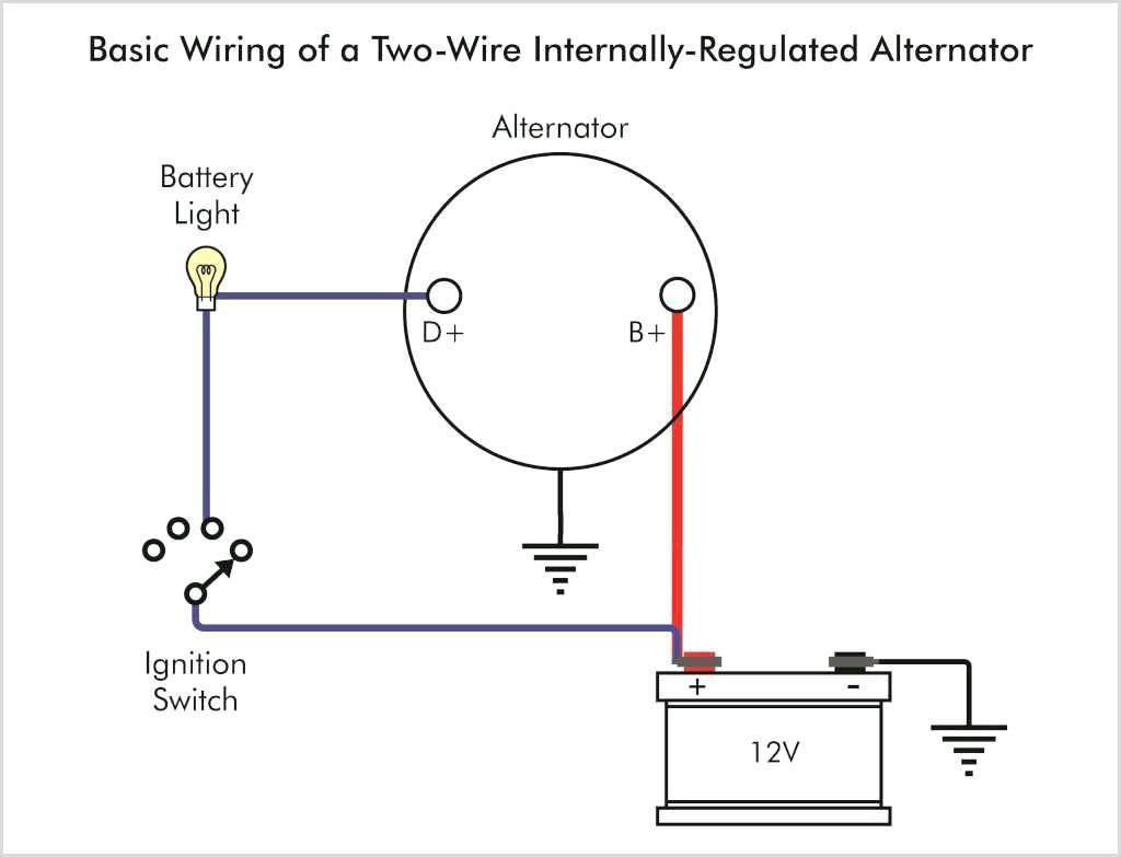 one wire alternator wiring diagram chevy unique wiring diagram image rh mainetreasurechest com GM 1- Wire Alternator Diagram One Wire Alternator Conversion