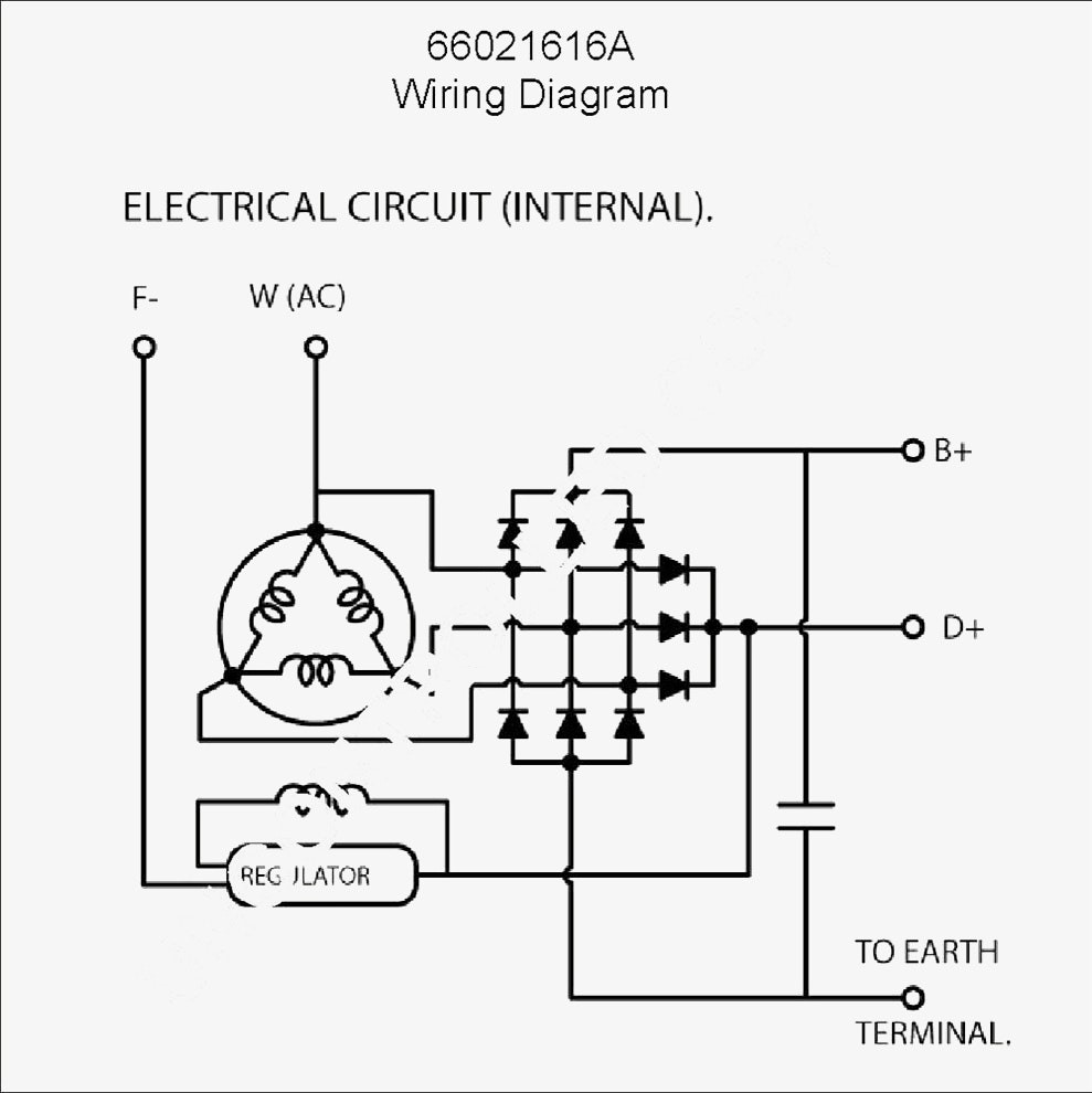 One Wire Alternator Wiring Diagram Chevy Unique | Wiring Diagram Image