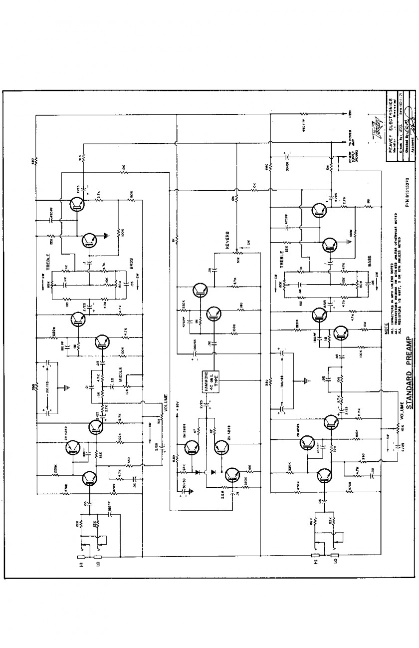 Peavey Wiring Diagrams Electrical Diagram Schematics 5150 Rockmaster Guitar Trusted Diy Raptor