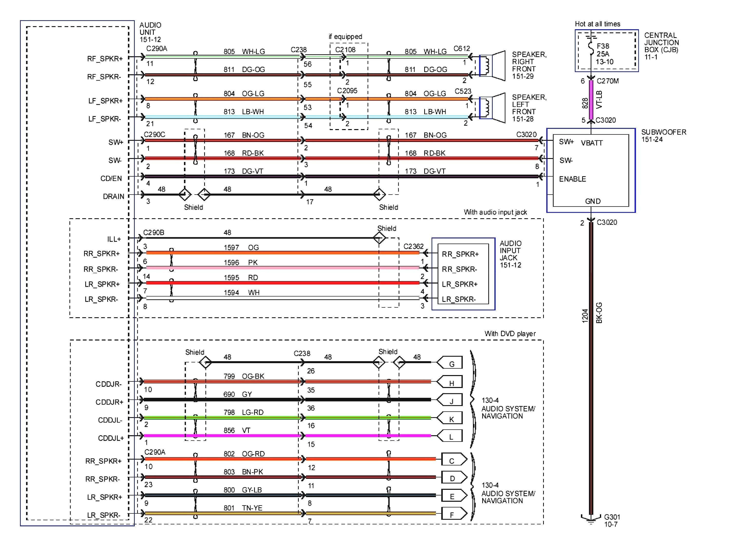 Head Unit Wiring Harness Diagram Fresh Magnificent Pioneer For Wire