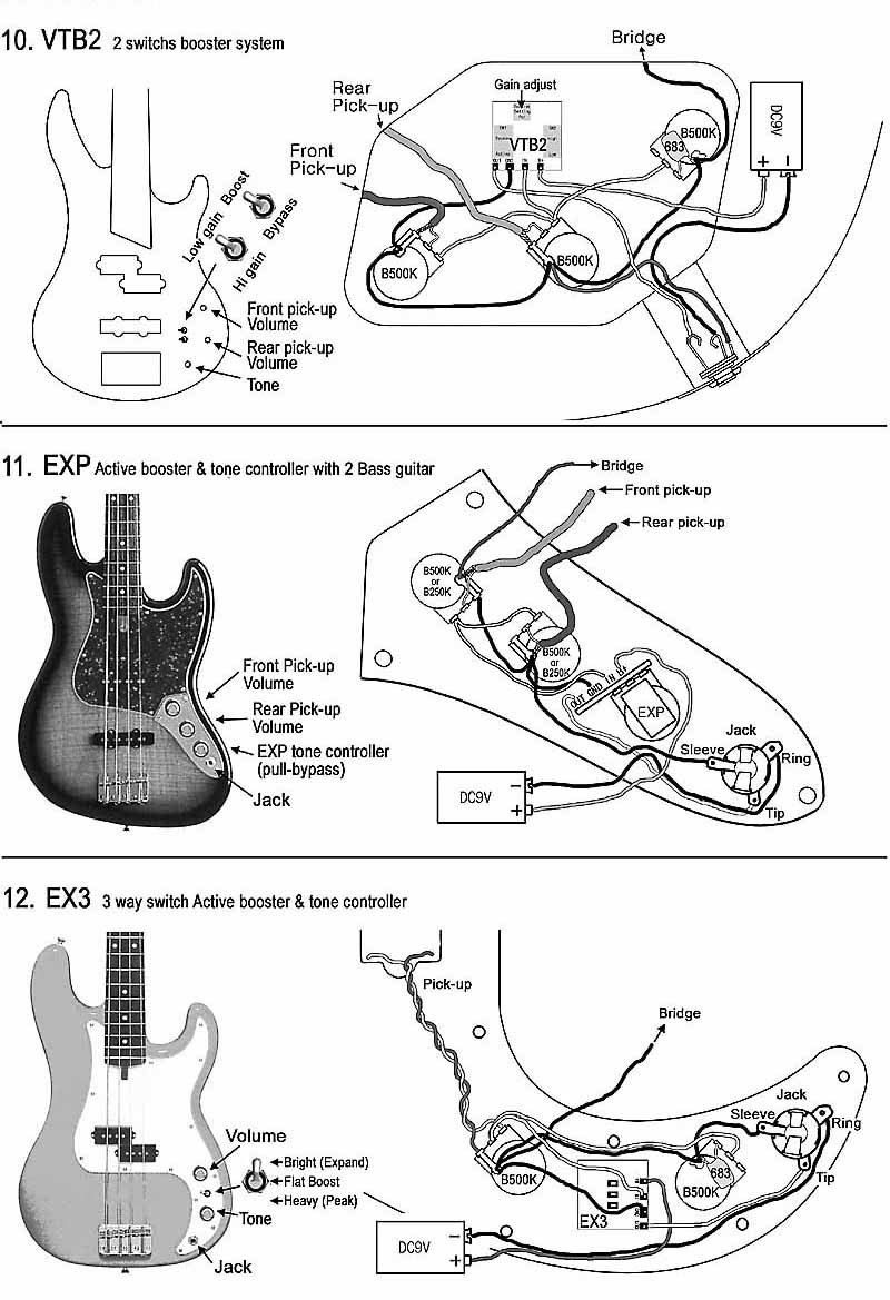 Pj Bass Wiring Inspirational Diagram Image Rickenbacker 4001 Guitar Pickup Diagrams Free With 4003