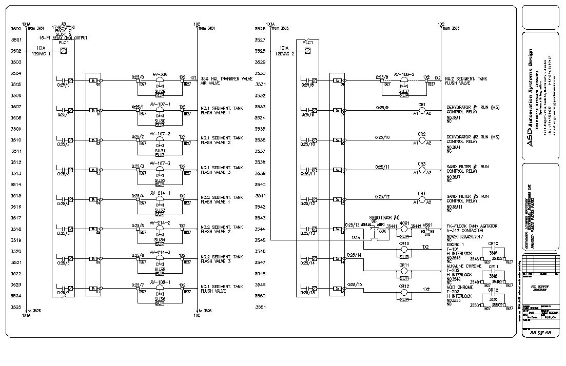Diagram of the PLC lamp and switch circuit plc programming Pinterest