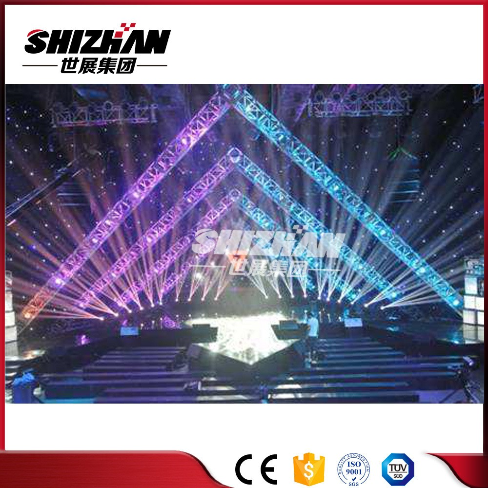 China Aluminum Mobil Lighting Truss Stand Backdrop Truss Light Stage China Light Truss Event Event Truss