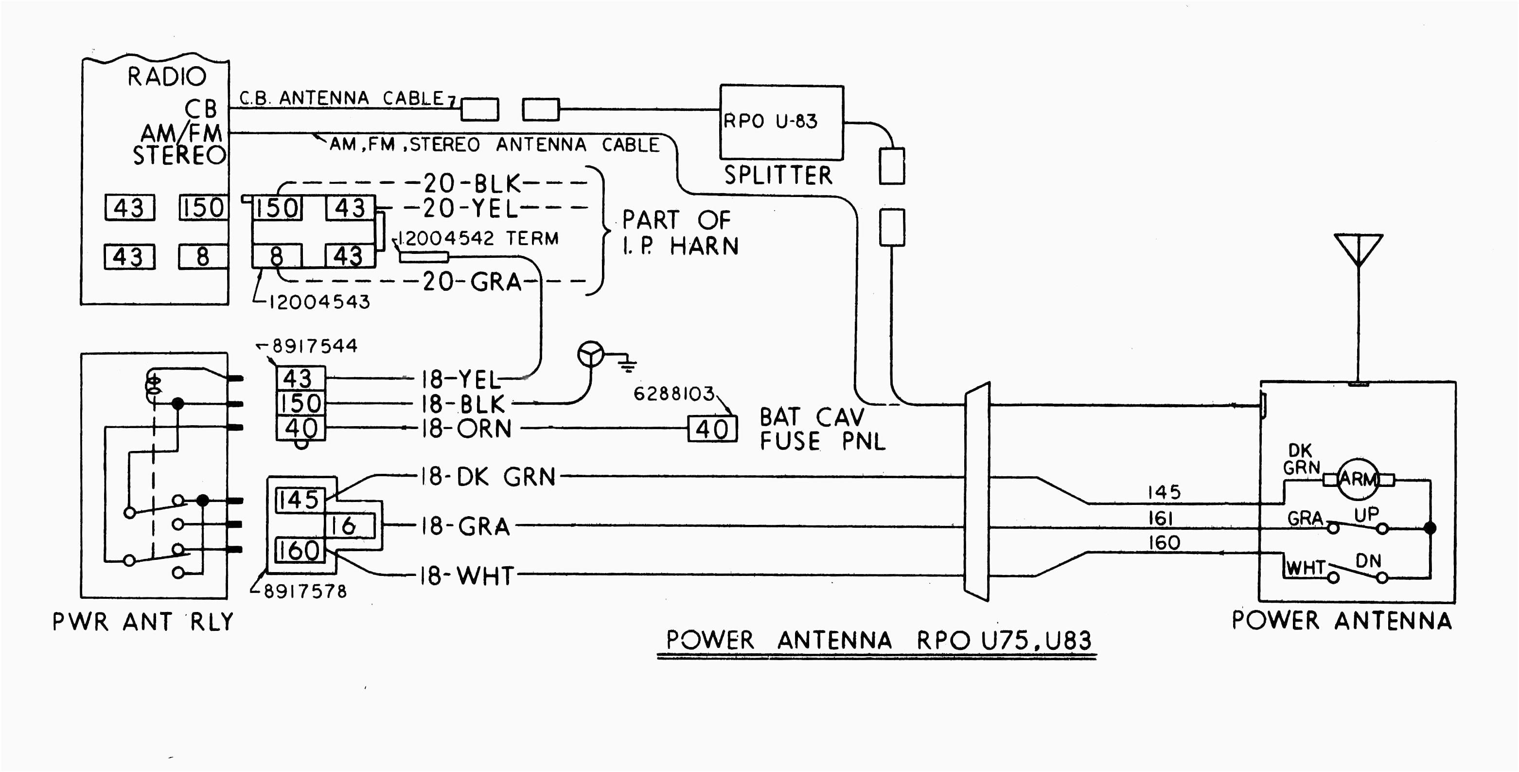 Car Power Antenna Wiring Diagram Dodge Caliber Fuse Unusual