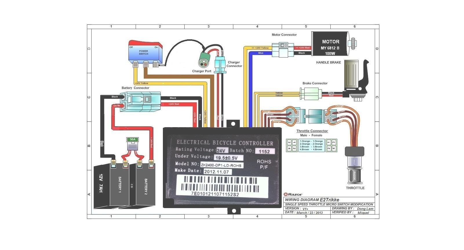 Razor E300 Wiring Diagram Unique   Wiring Diagram Image on