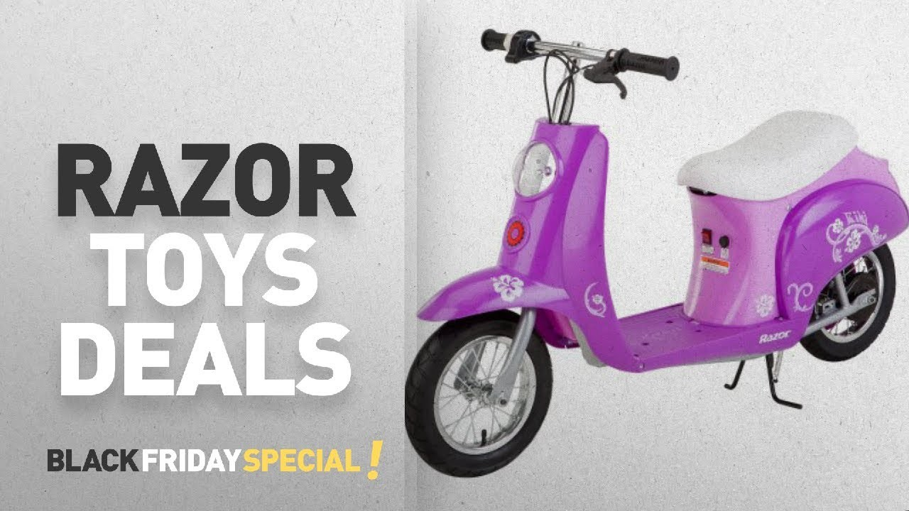 Walmart Top Black Friday Razor Toys Razor Pocket Mod 24 Volt Electric Scooter